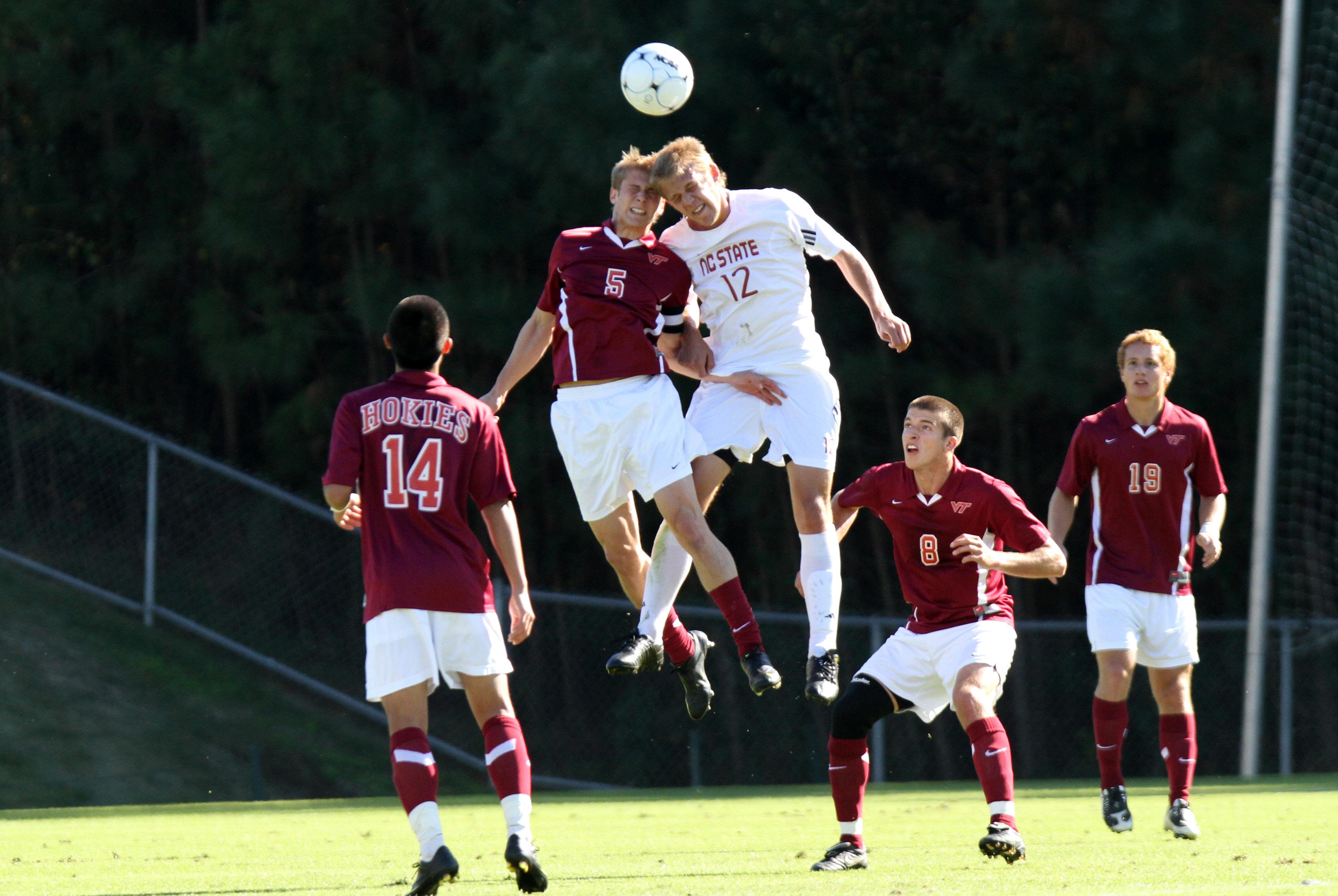 NCAA SOCCER: NOV 09 ACC Play-In Game - NC State v Virginia Tech