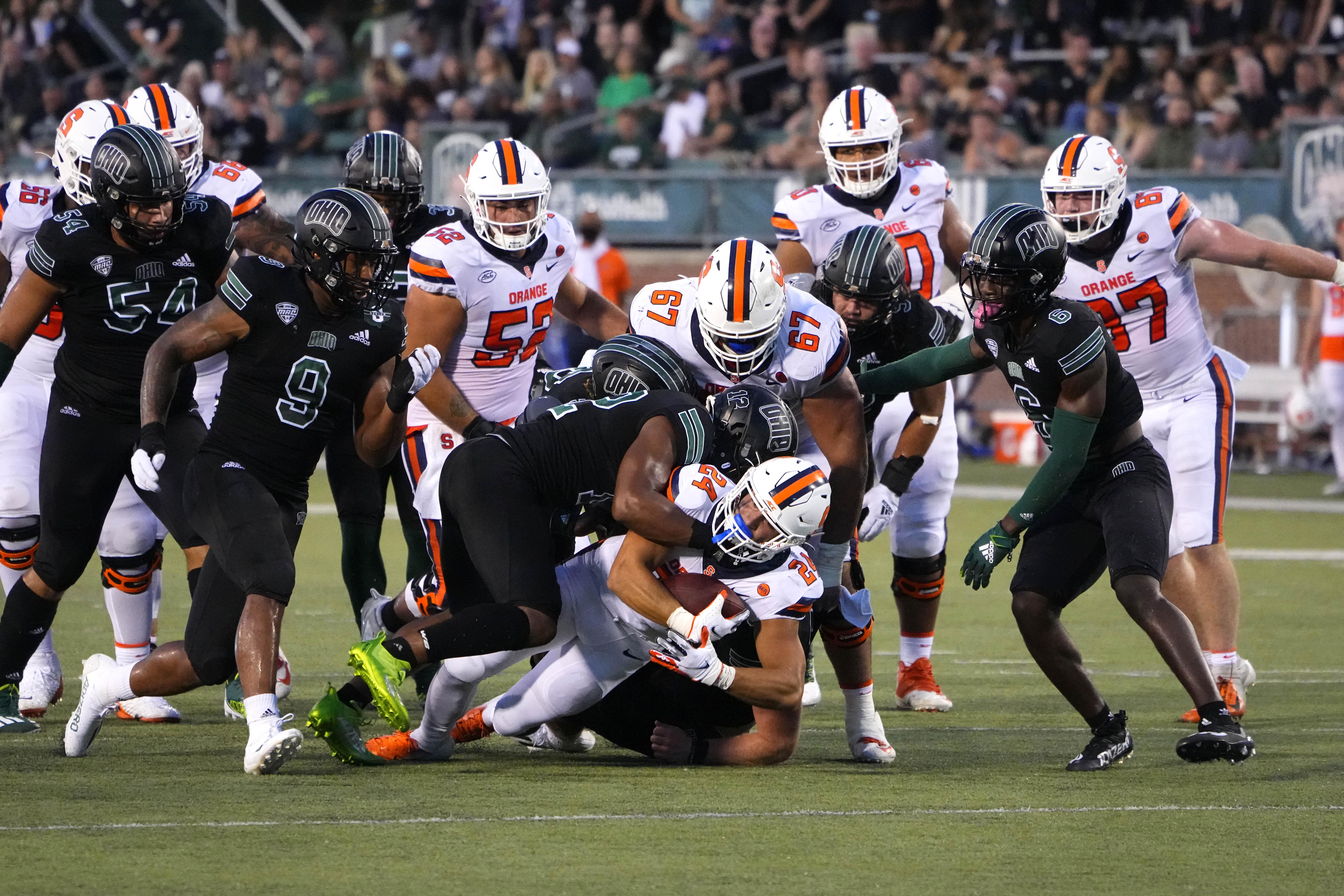 COLLEGE FOOTBALL: SEP 04 Syracuse at Ohio