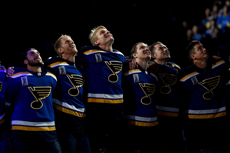 Washington Capitals v St Louis Blues