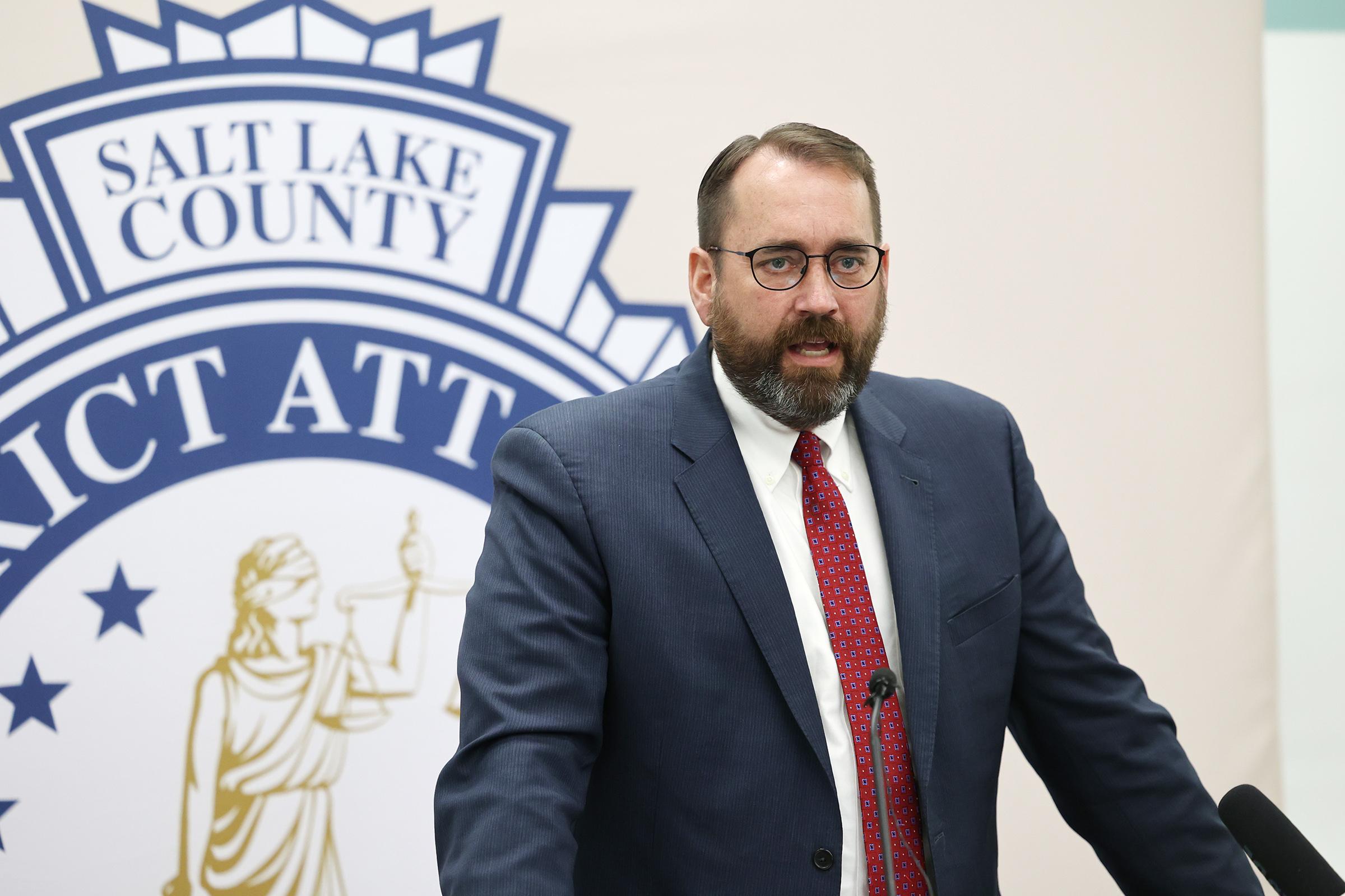 Utah County Attorney David Leavitt