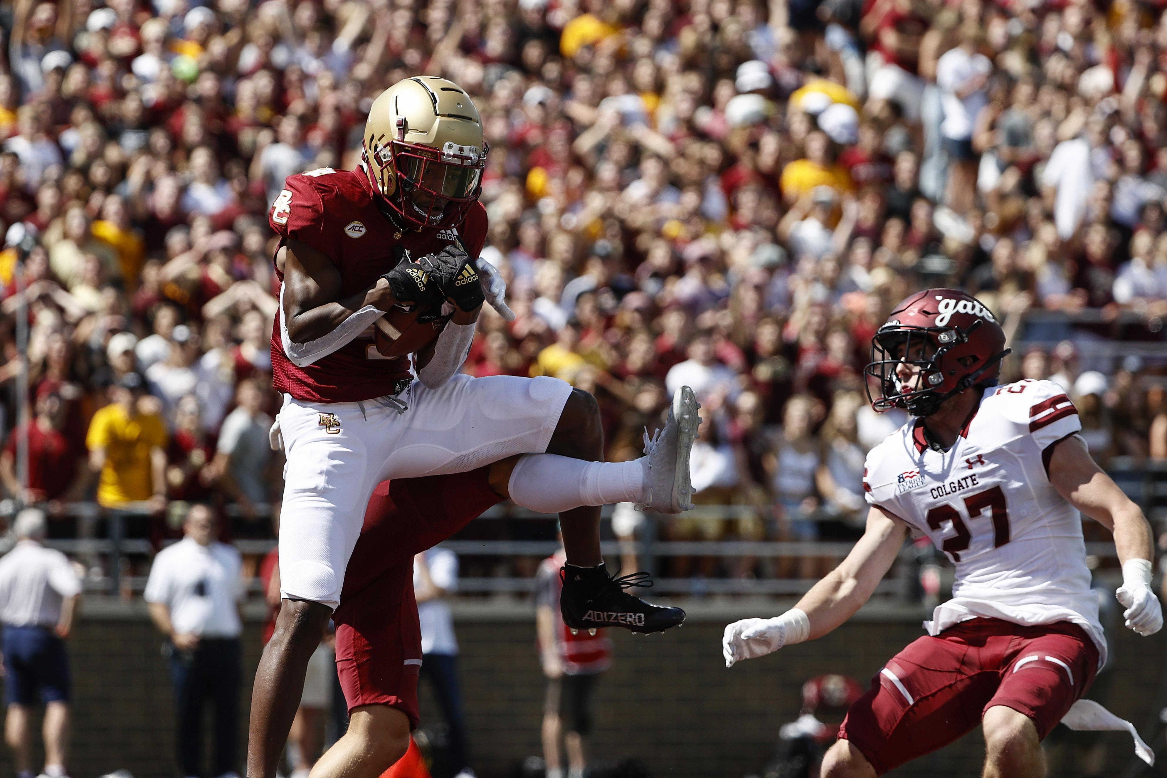 NCAA Football: Colgate at Boston College