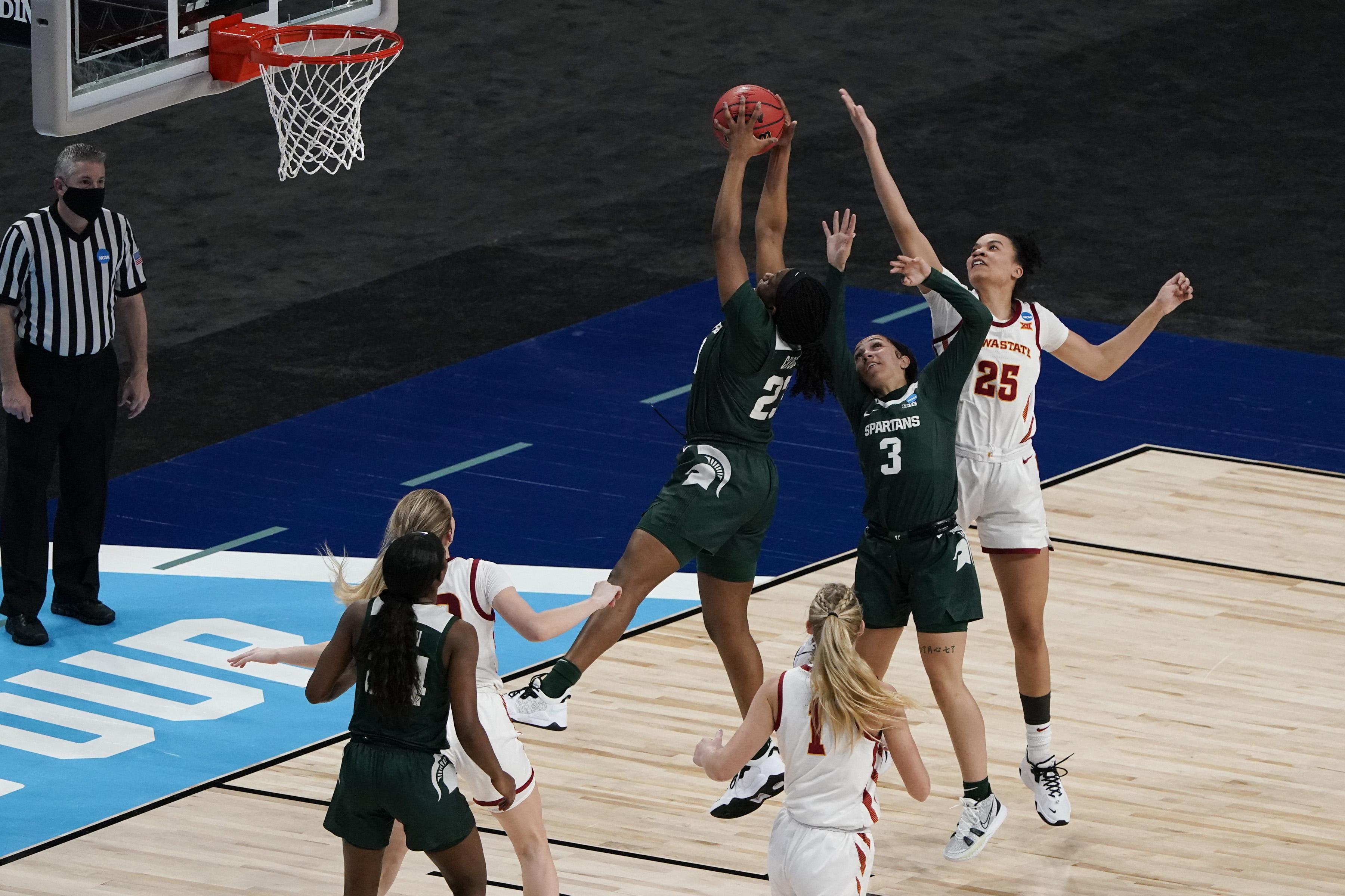 NCAA Women's Basketball Tournament - First Round - Michigan State v Iowa State
