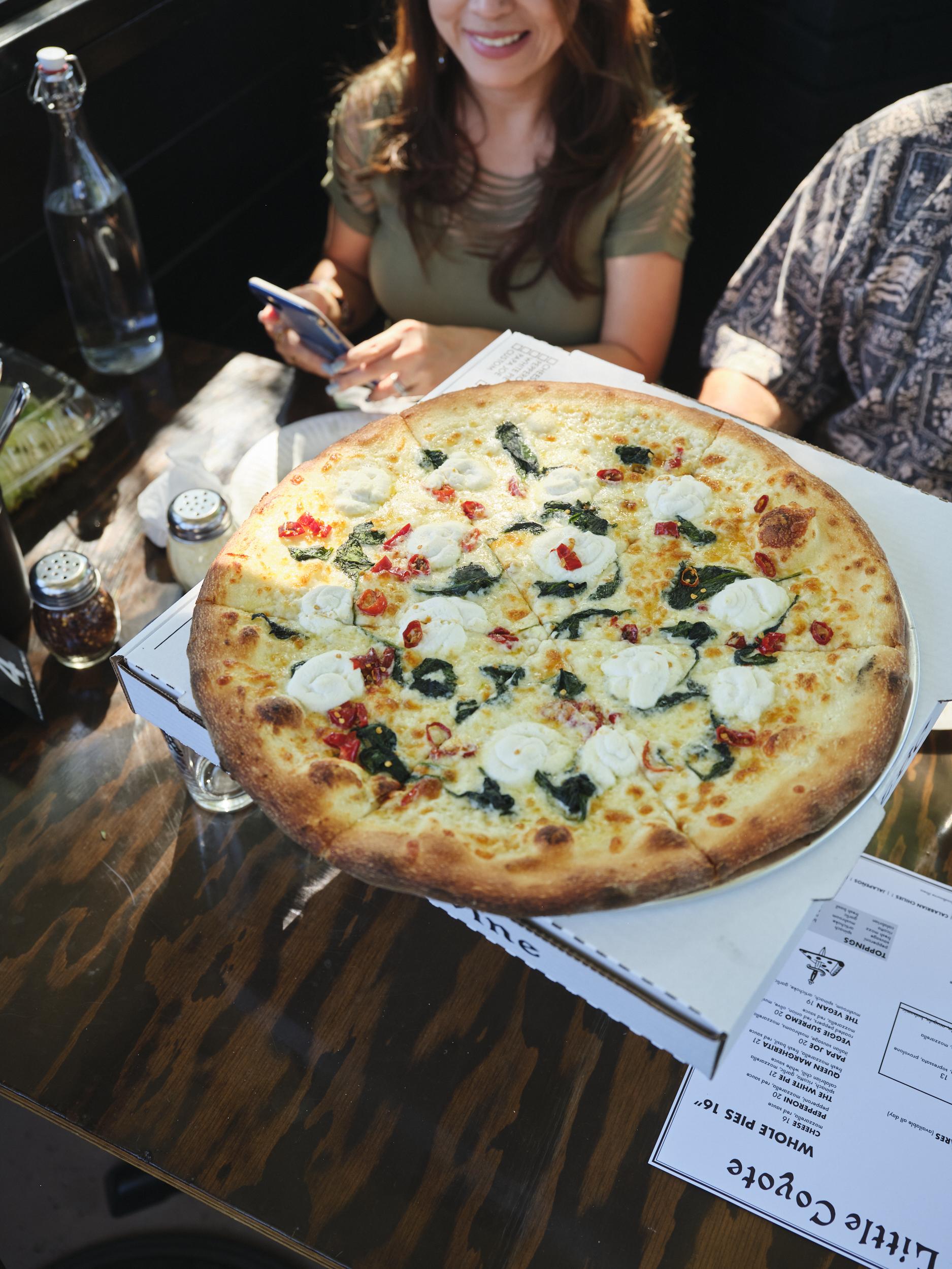 Little Coyote pizza in Long Beach, California