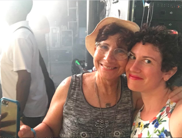 Linda Mensch, pictured with daughter Jessica Heyman, was killed in a hit and run crash August 26, 2021 outside the Garfield Park Conservatory.Provided by Lynn Orman Weiss
