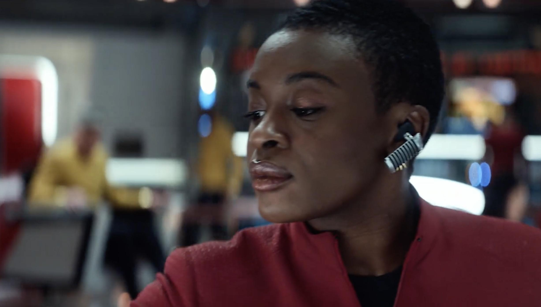 Star Trek: Strange New Worlds: Uhura at the controls