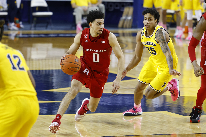 NCAA Basketball: Rutgers at Michigan