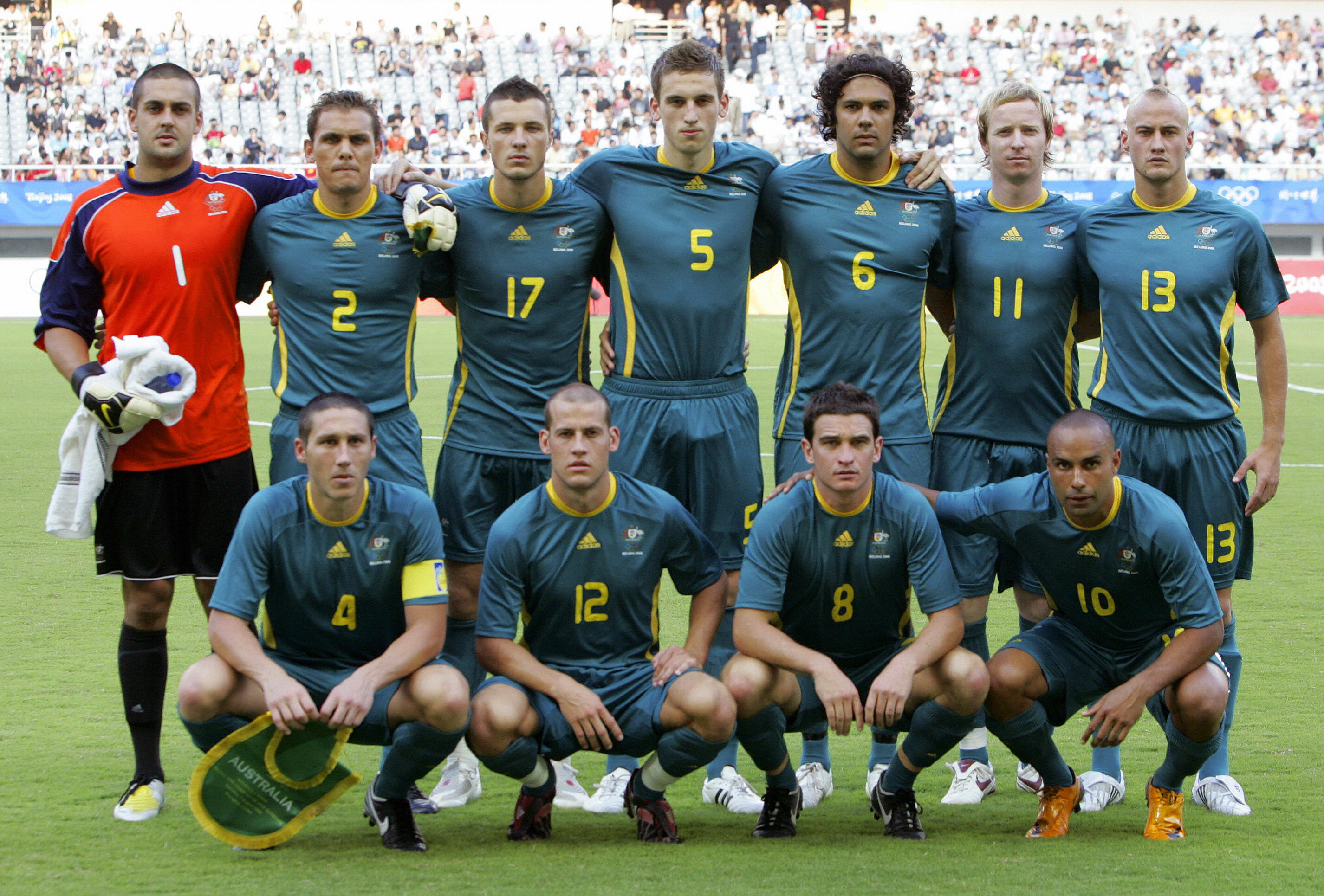 (From L-top row) Players of Australia Ad