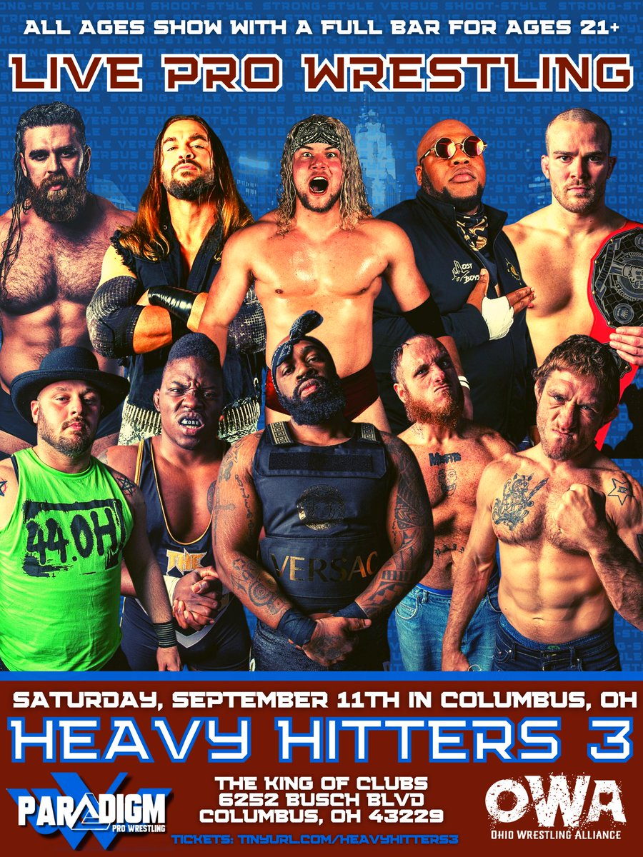 Poster for PPW Heavy Hitters 3