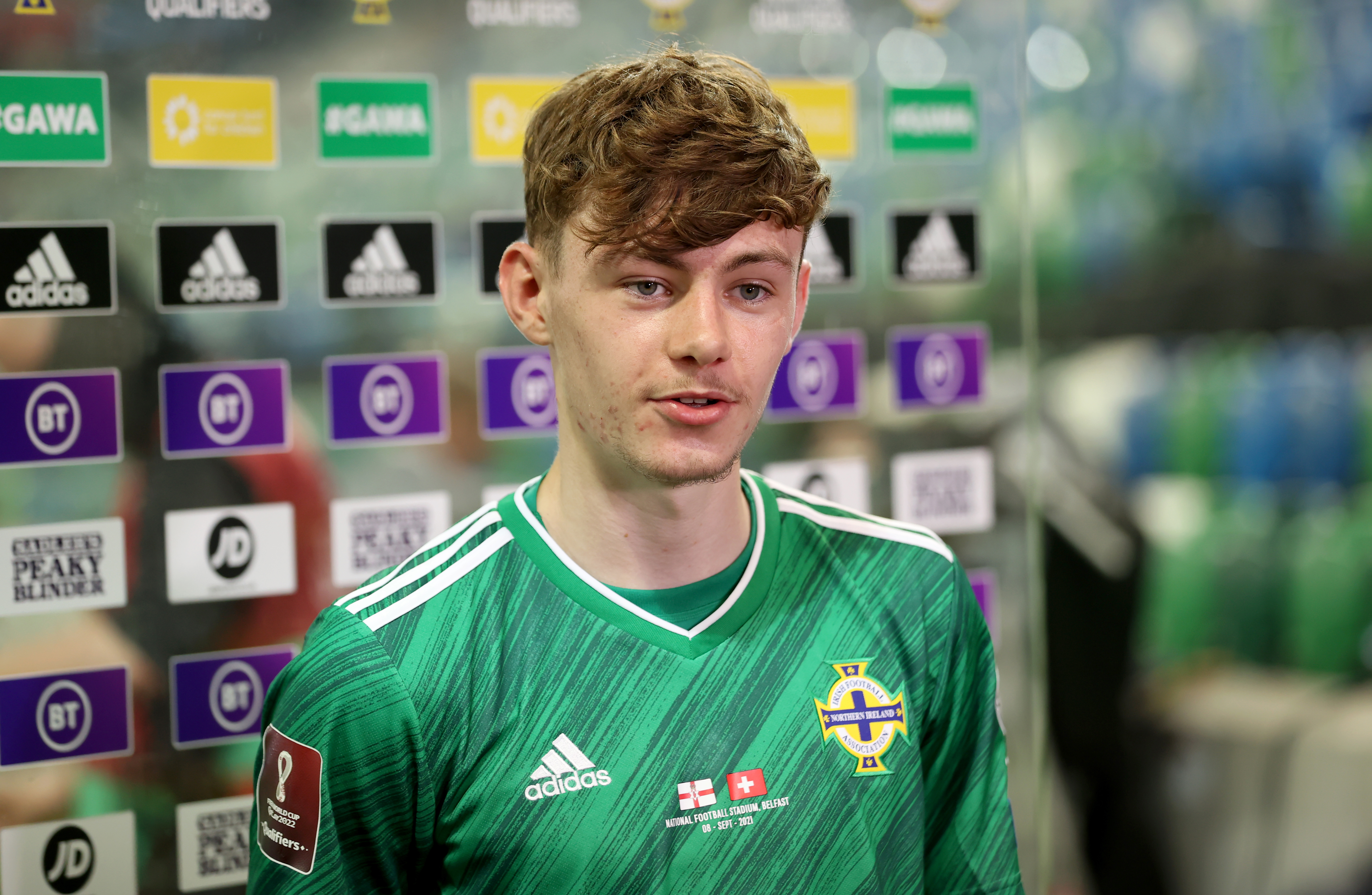 Northern Ireland v Switzerland - FIFA World Cup 2022 - European Qualifying - Group C - Windsor Park