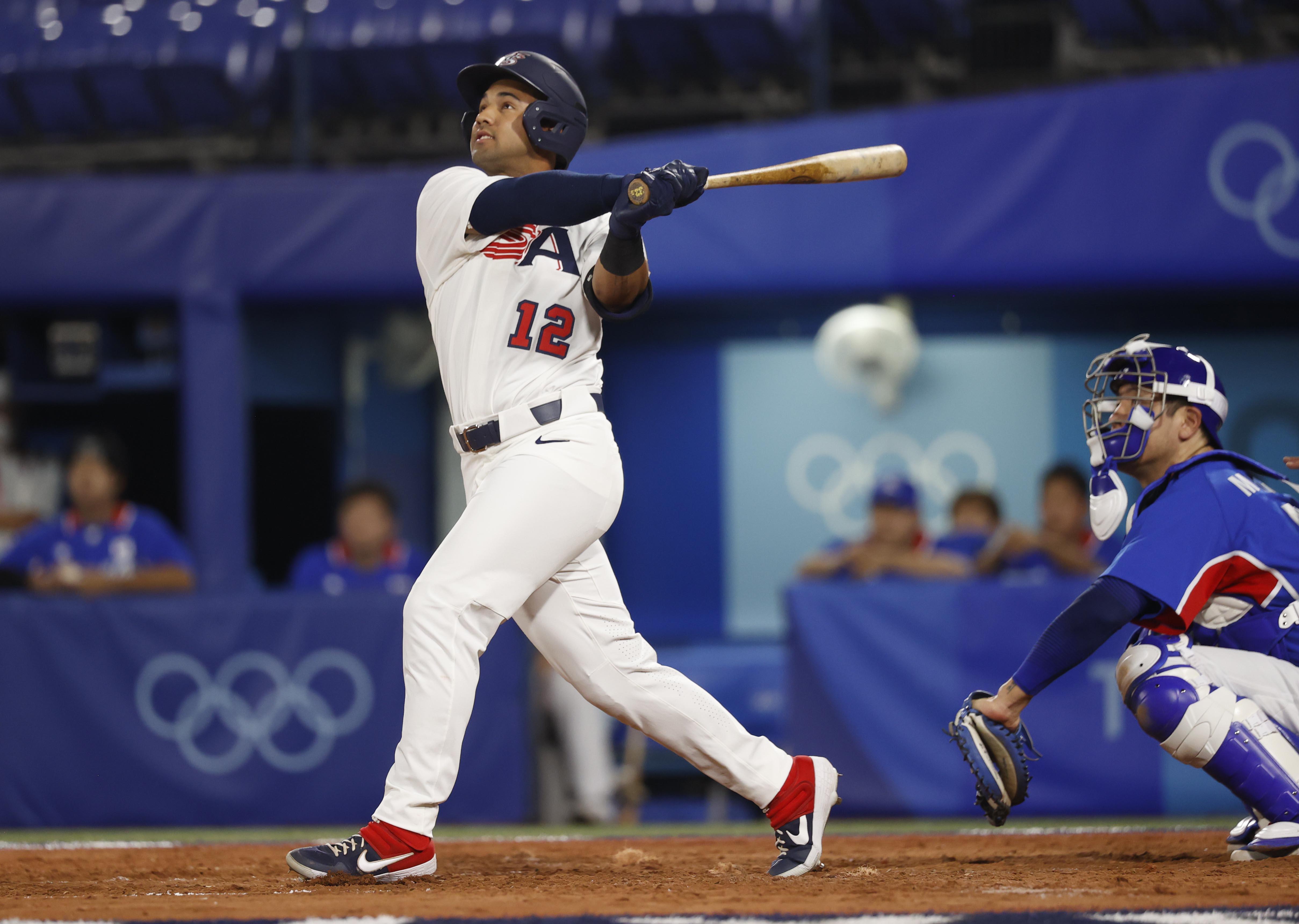 Olympics: Baseball-Men Semifinal - USA-KOR