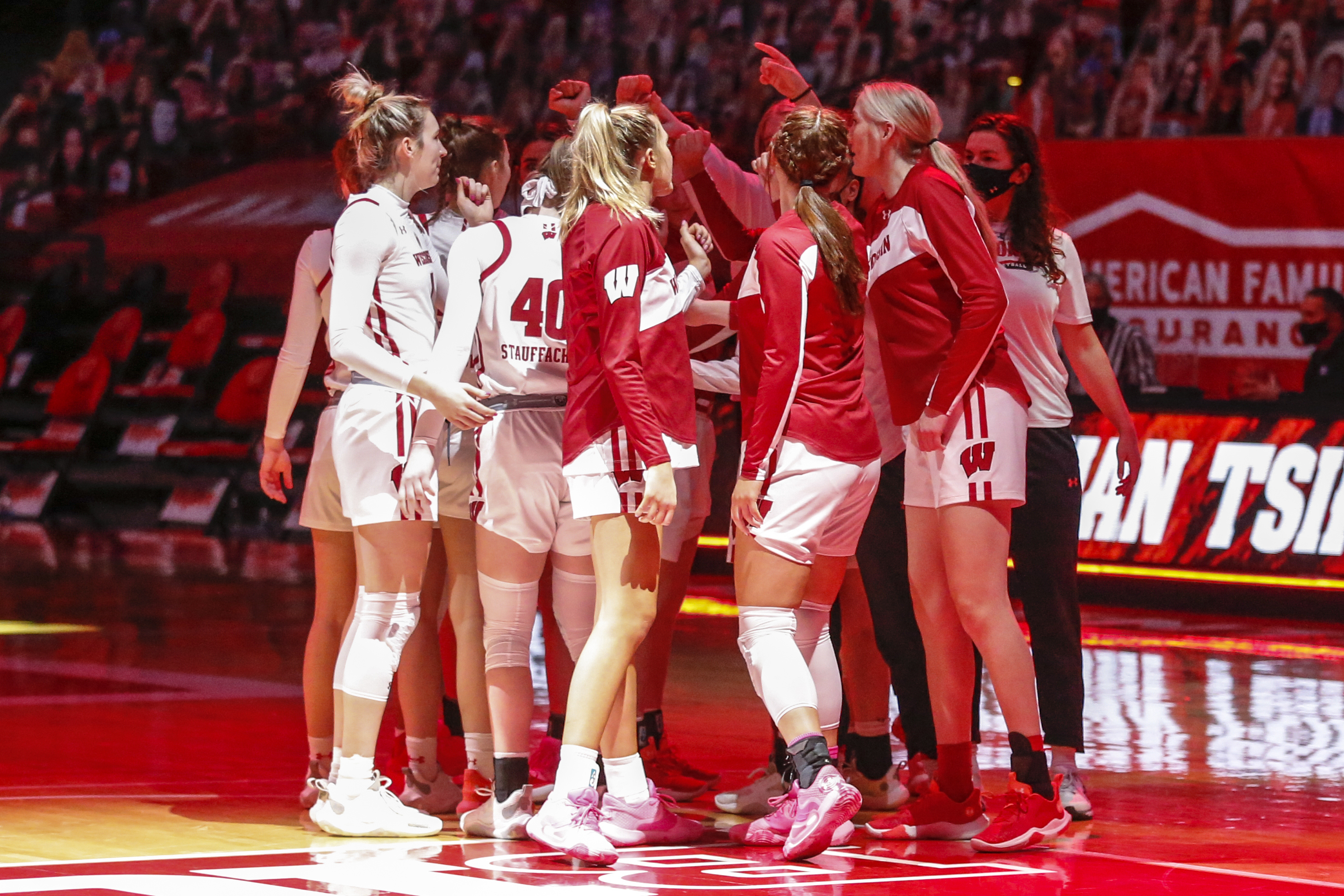 COLLEGE BASKETBALL: FEB 24 Women's Indiana at Wisconsin