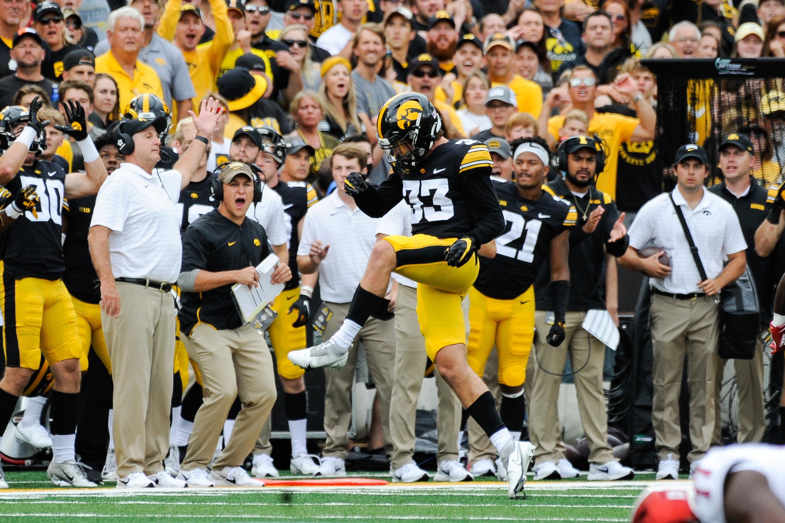 NCAA Football: Indiana at Iowa
