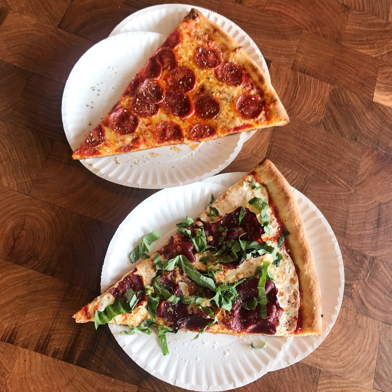 Five Points Pizza slices