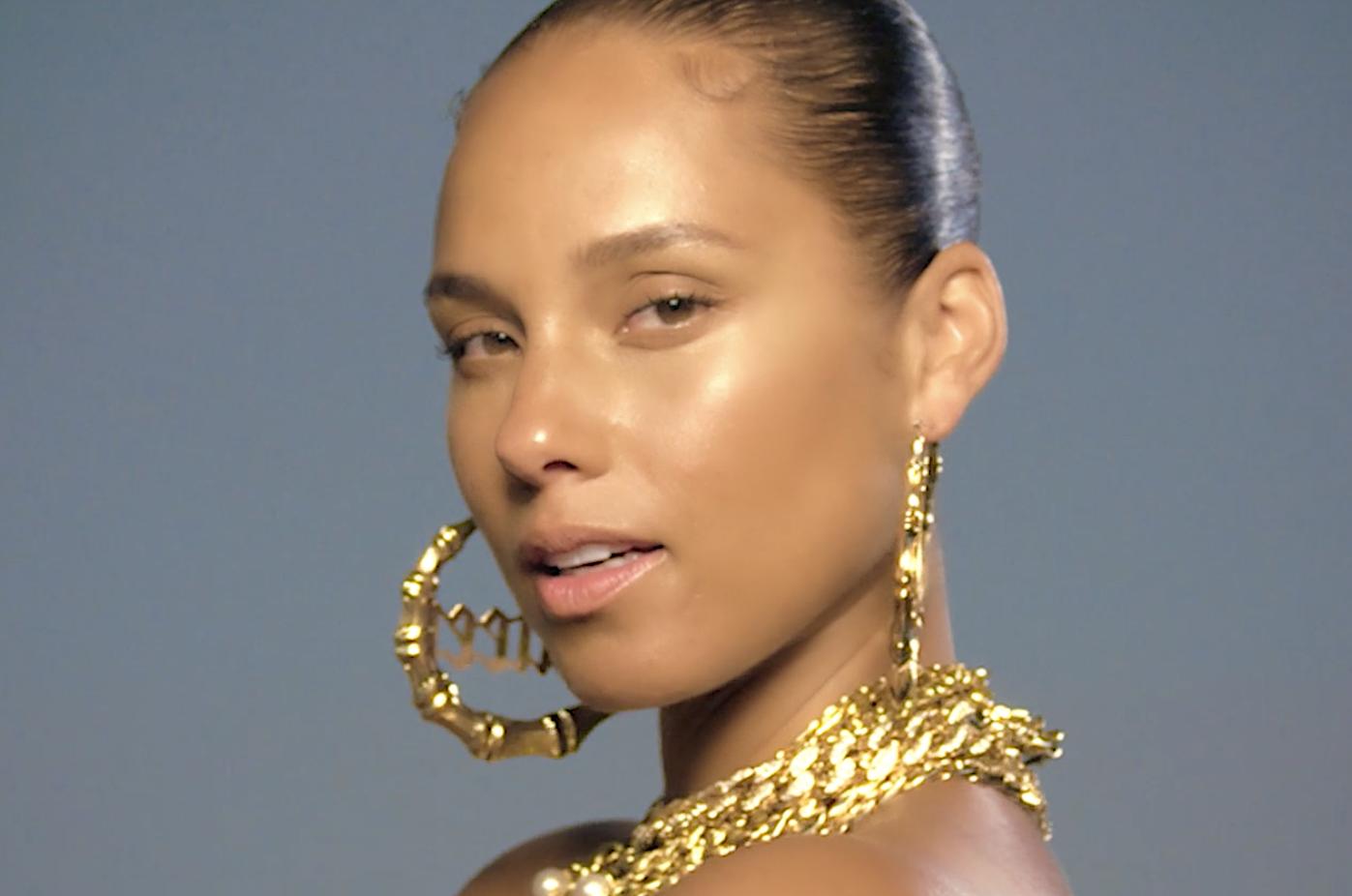 """Alicia Keys' """"LALA (Unlocked)"""" artwork"""