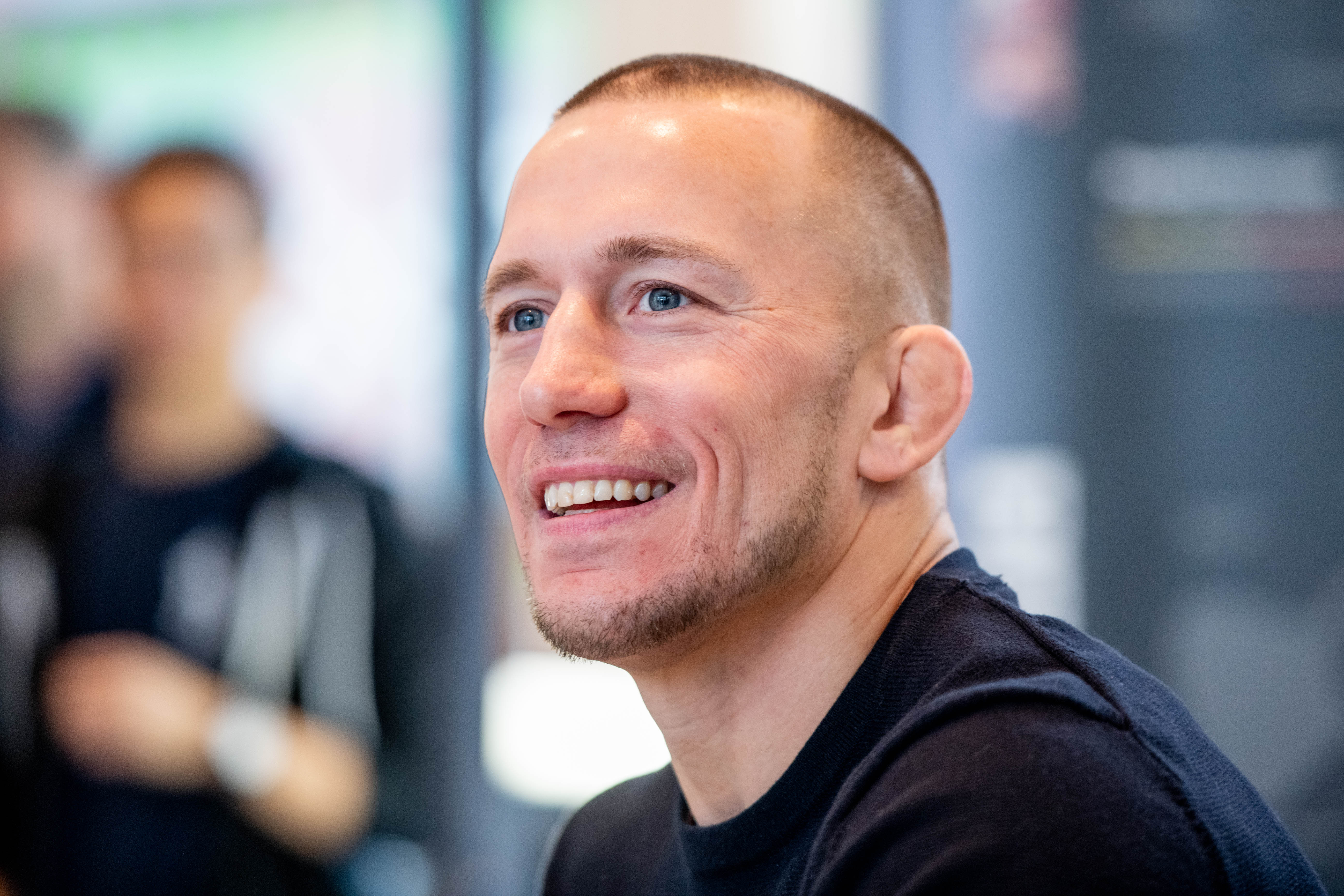 UFC Champion Georges St-Pierre Promotes Tim Tam Professional Recovery Massager