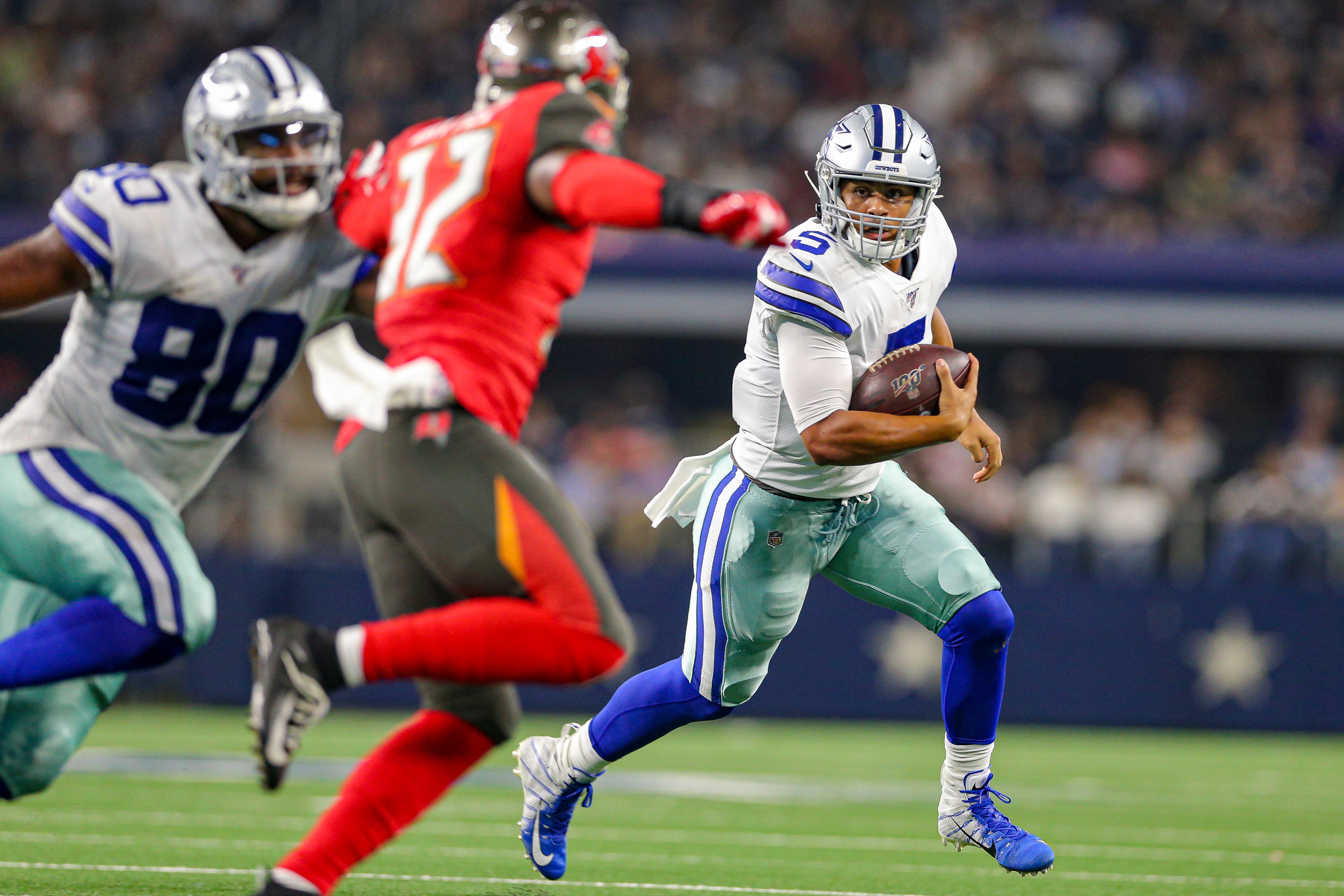 NFL: AUG 29 Preseason - Buccaneers at Cowboys