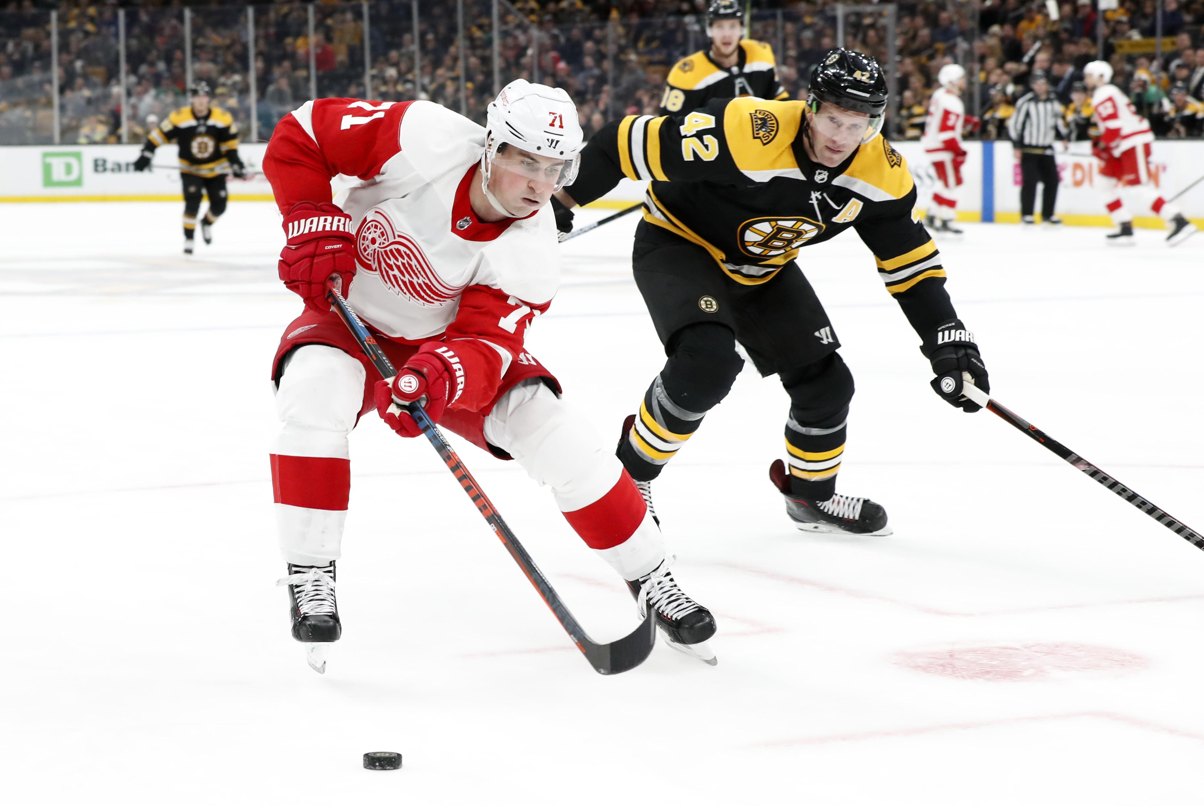 NHL: DEC 01 Red Wings at Bruins