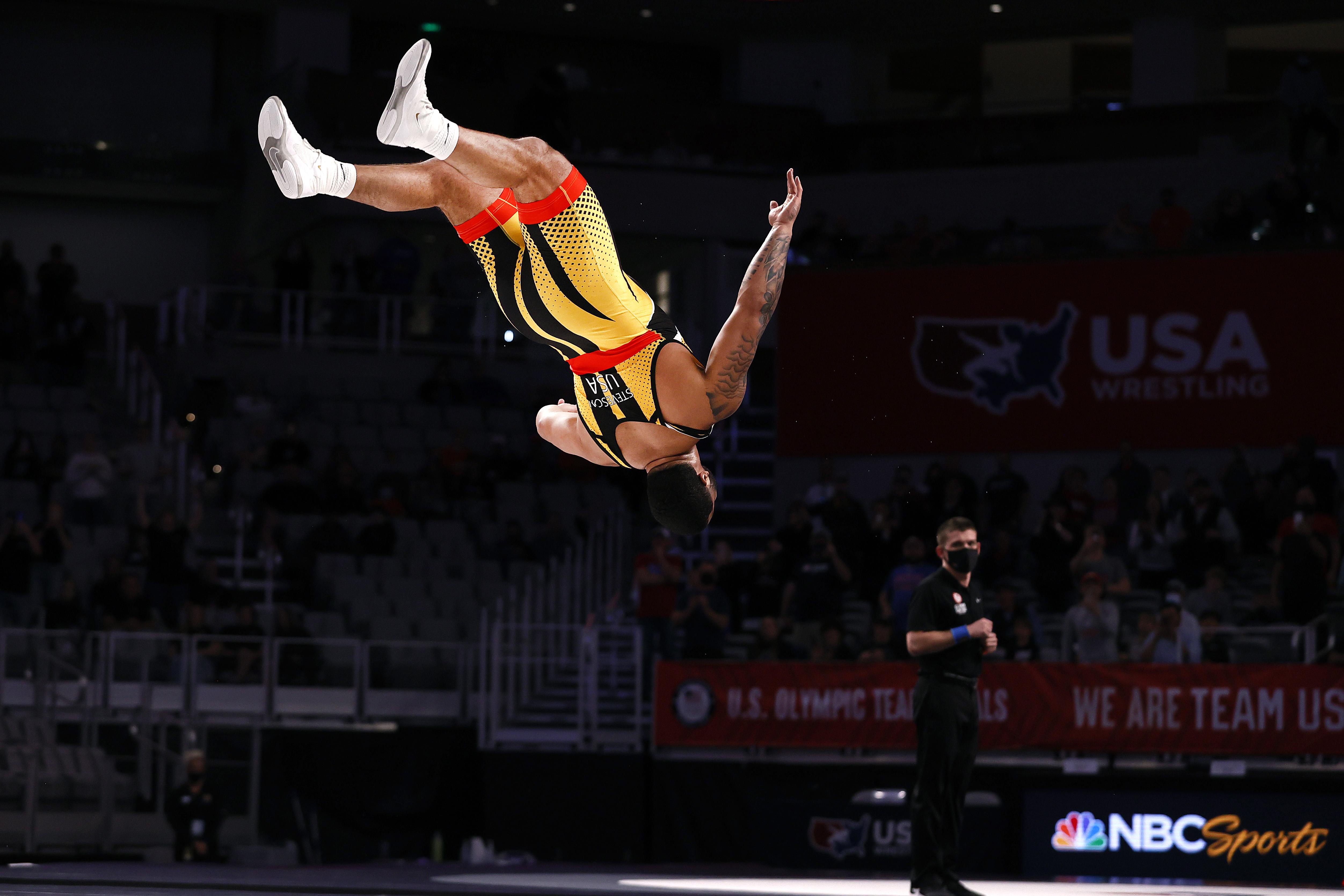 Gable Steveson - U.S. Olympic Team Trials - Wrestling