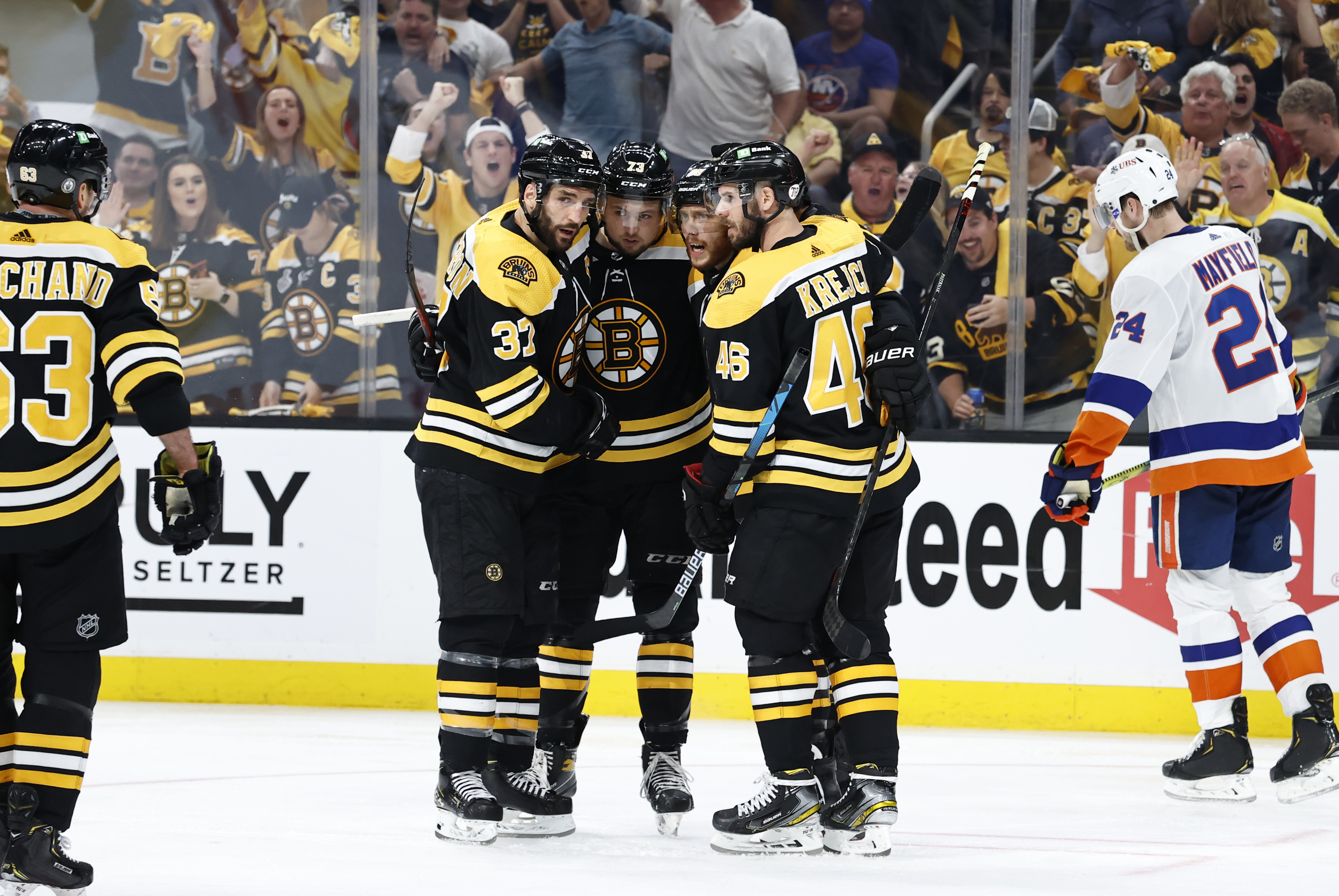 NHL: JUN 07 Stanley Cup Playoffs Second Round - Islanders at Bruins