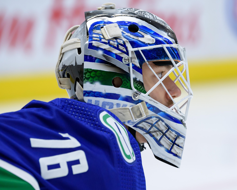 NHL: MAY 18 Flames at Canucks