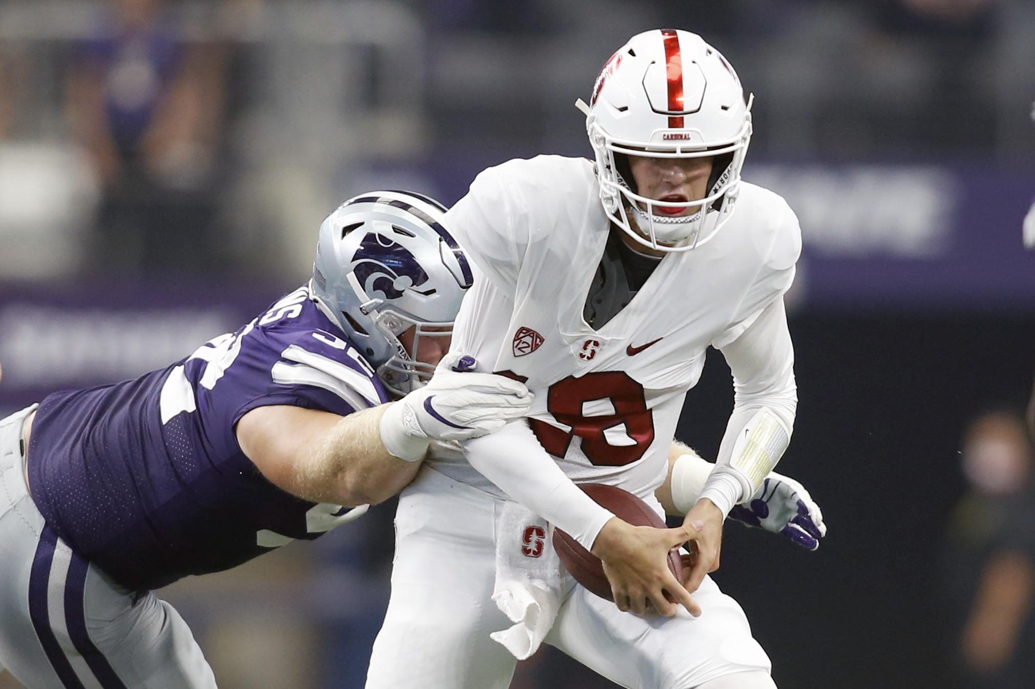 NCAA Football: Stanford at Kansas State