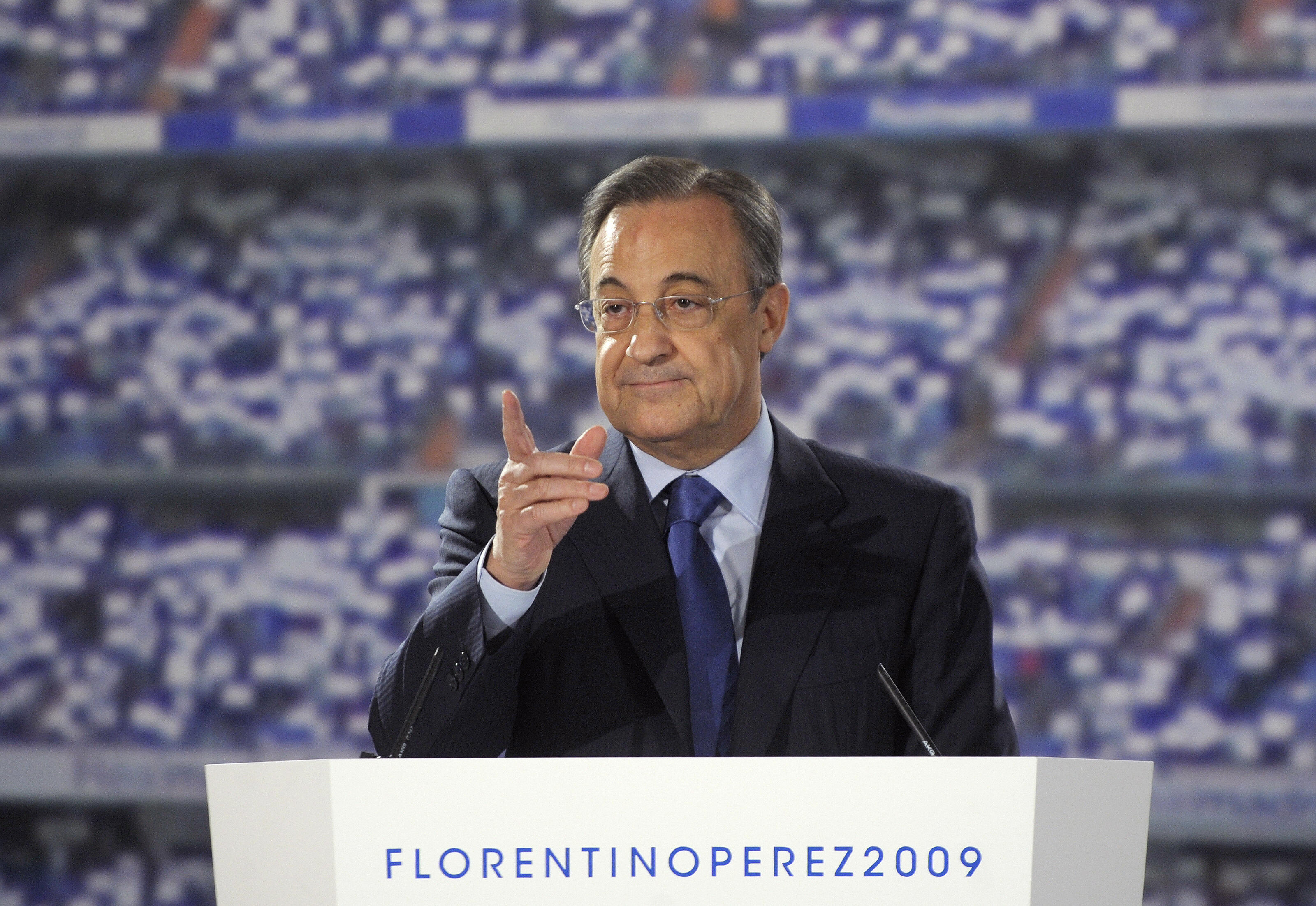 Former Real Madrid football club preside