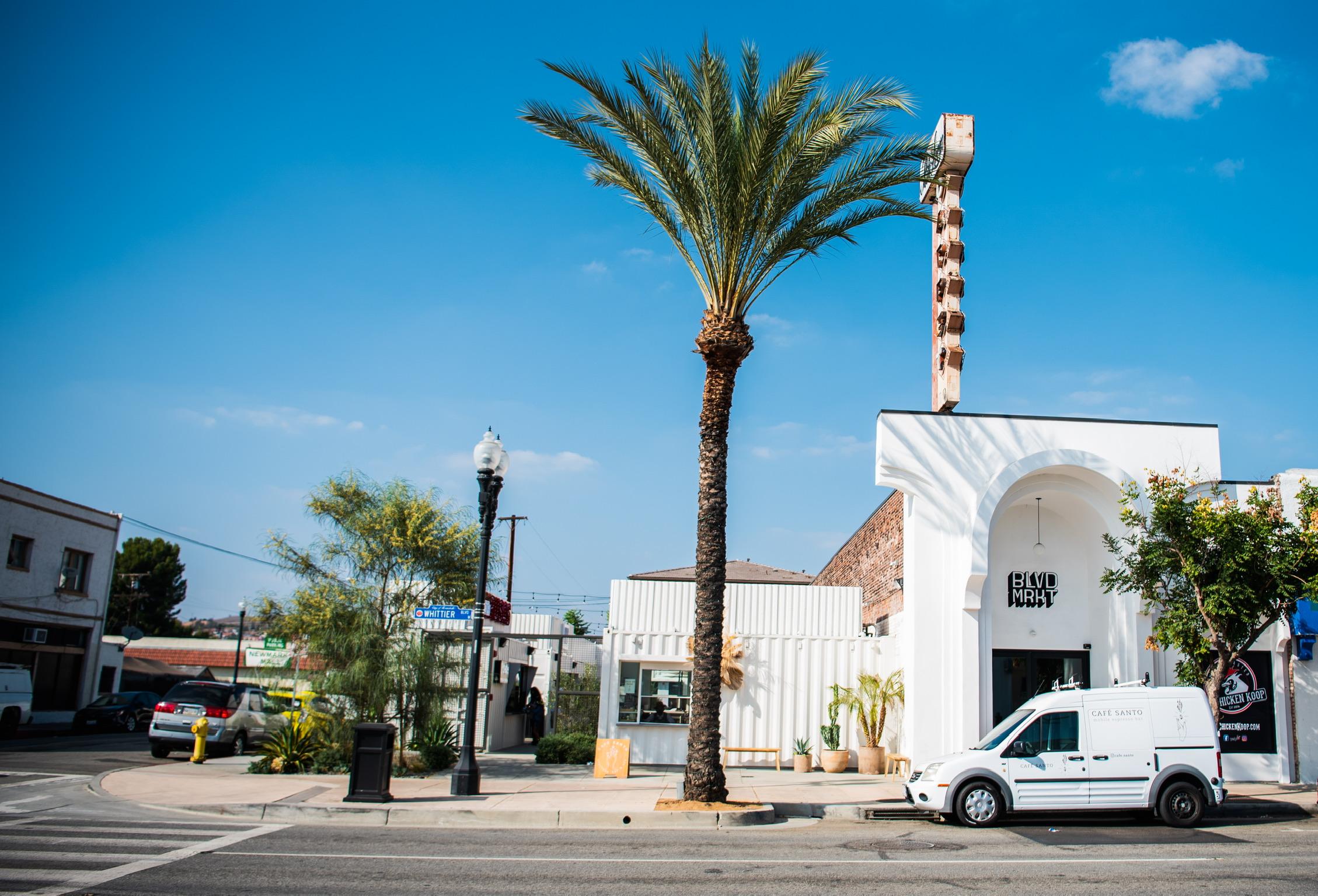 BLVD MRKT food hall in Montebello, California