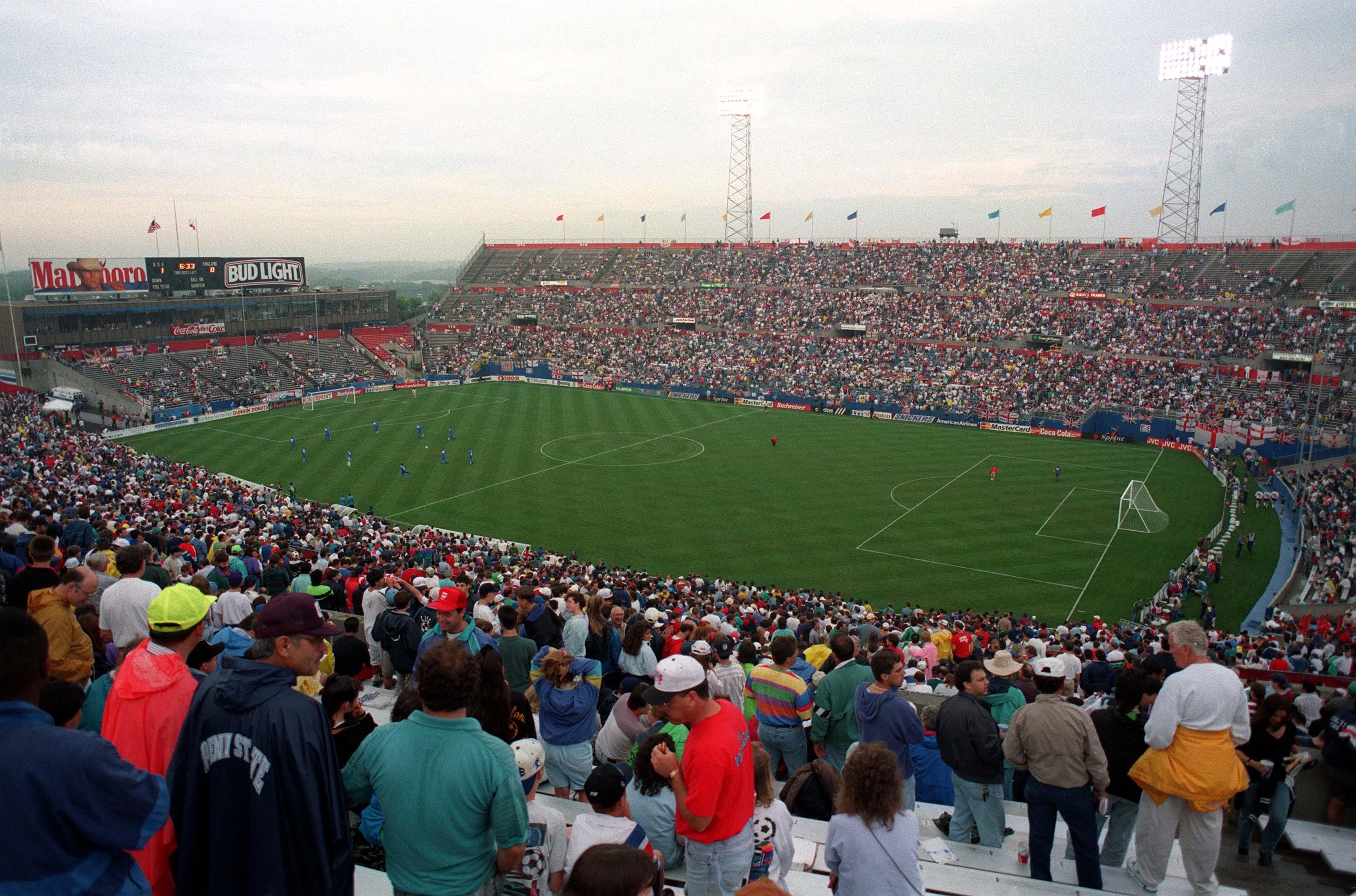 USA v England Football 1993