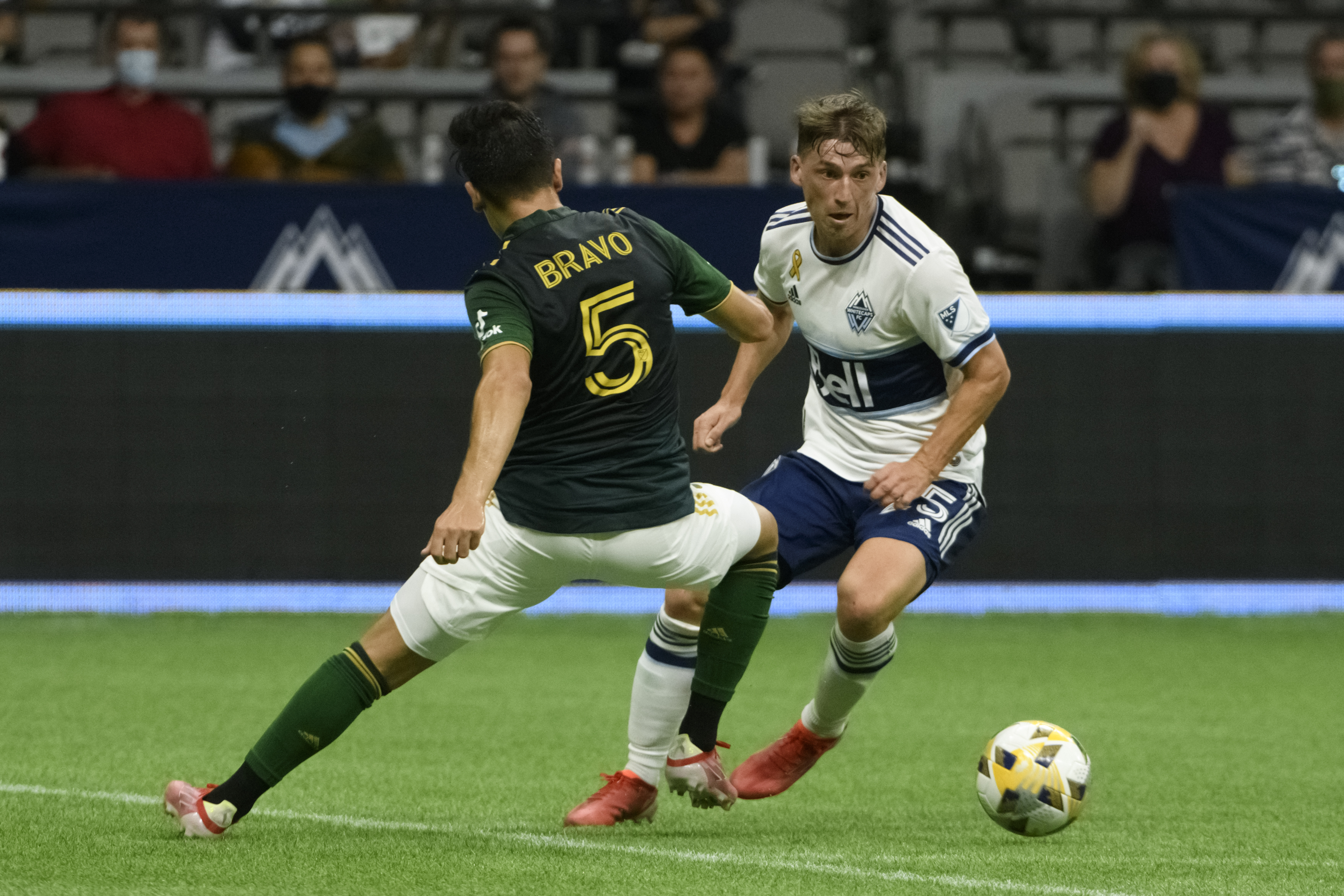 MLS: Portland Timbers at Vancouver Whitecaps FC