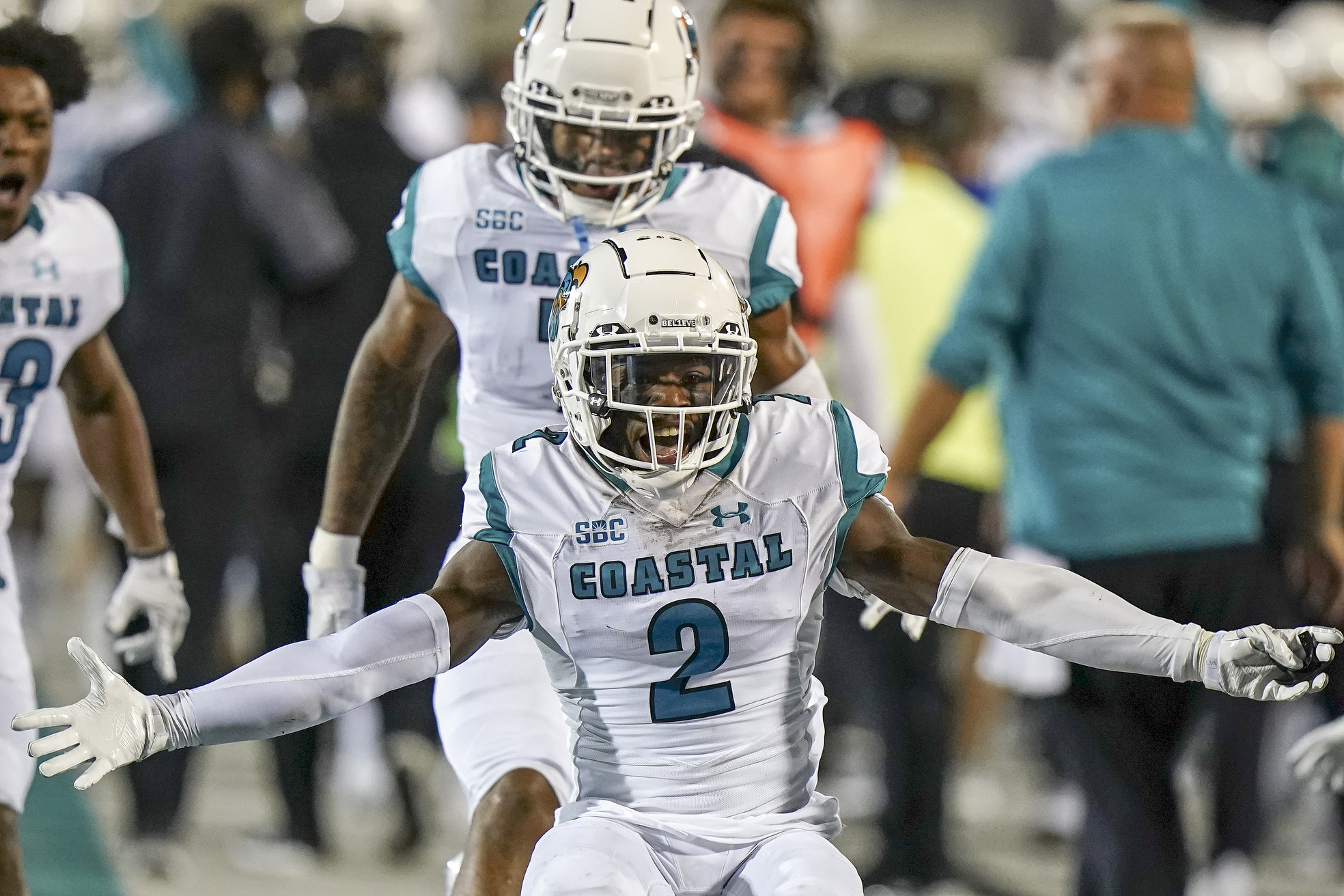 NCAA Football: Kansas at Coastal Carolina