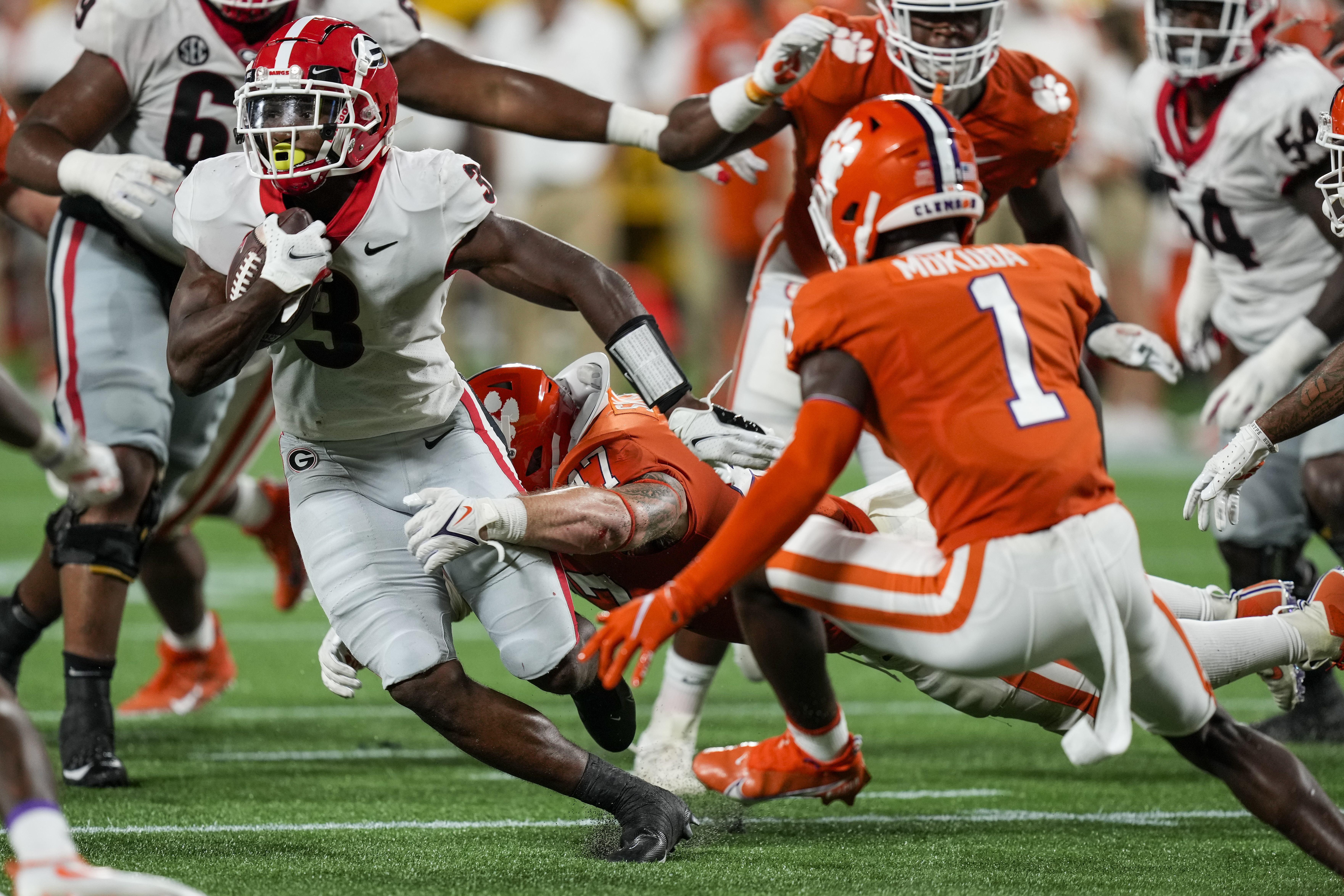 NCAA Football: Georgia at Clemson