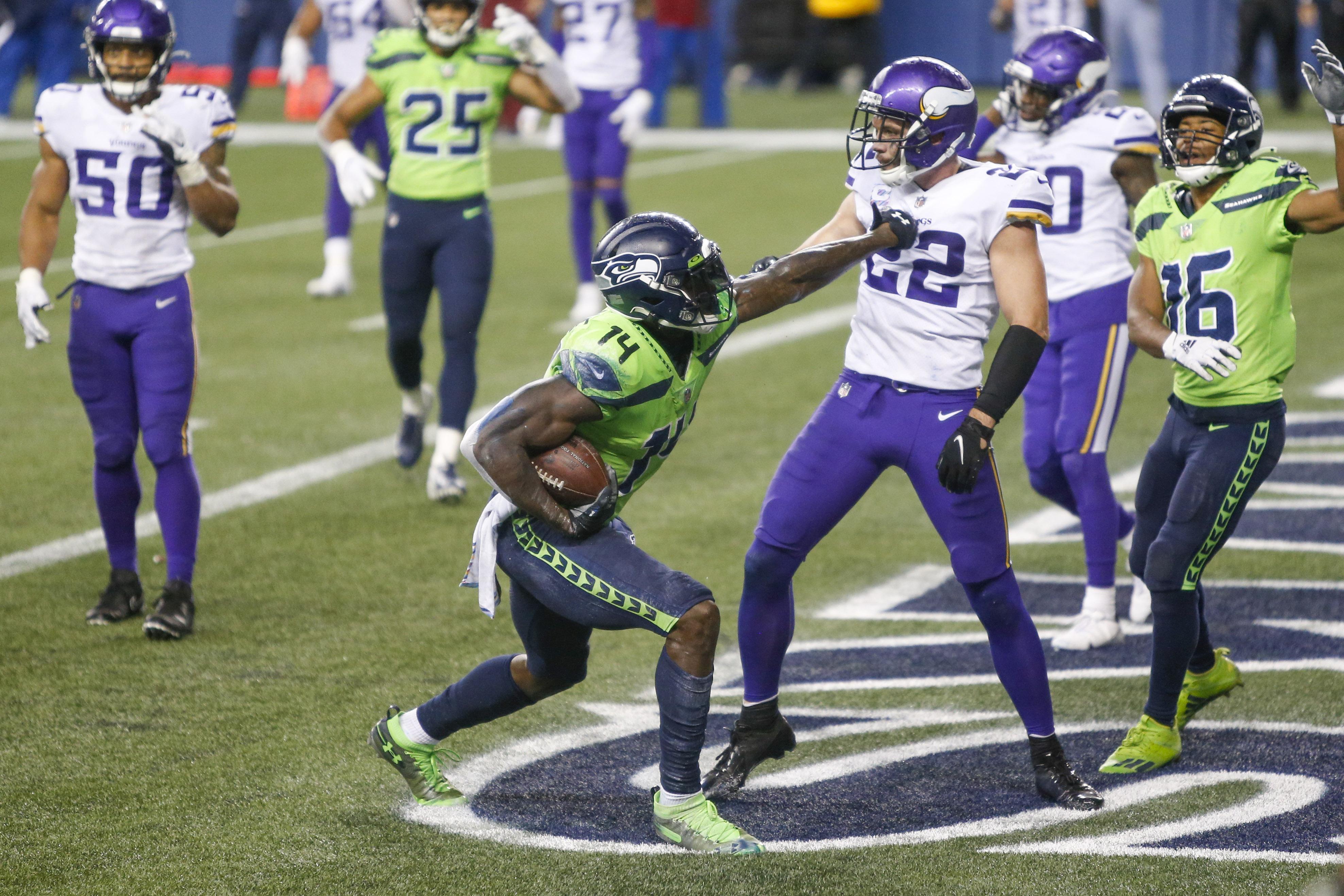 NFL: Minnesota Vikings at Seattle Seahawks