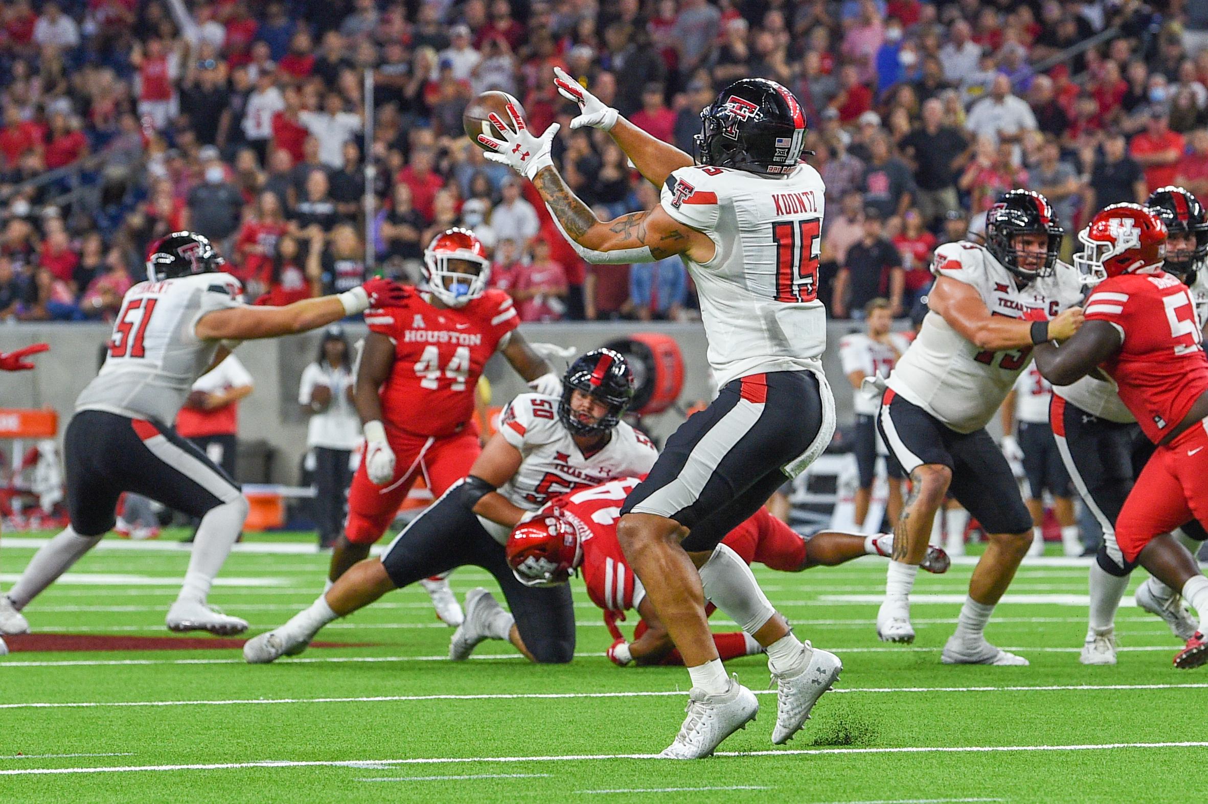 COLLEGE FOOTBALL: SEP 04 Texas Kickoff - Texas Tech v Houston