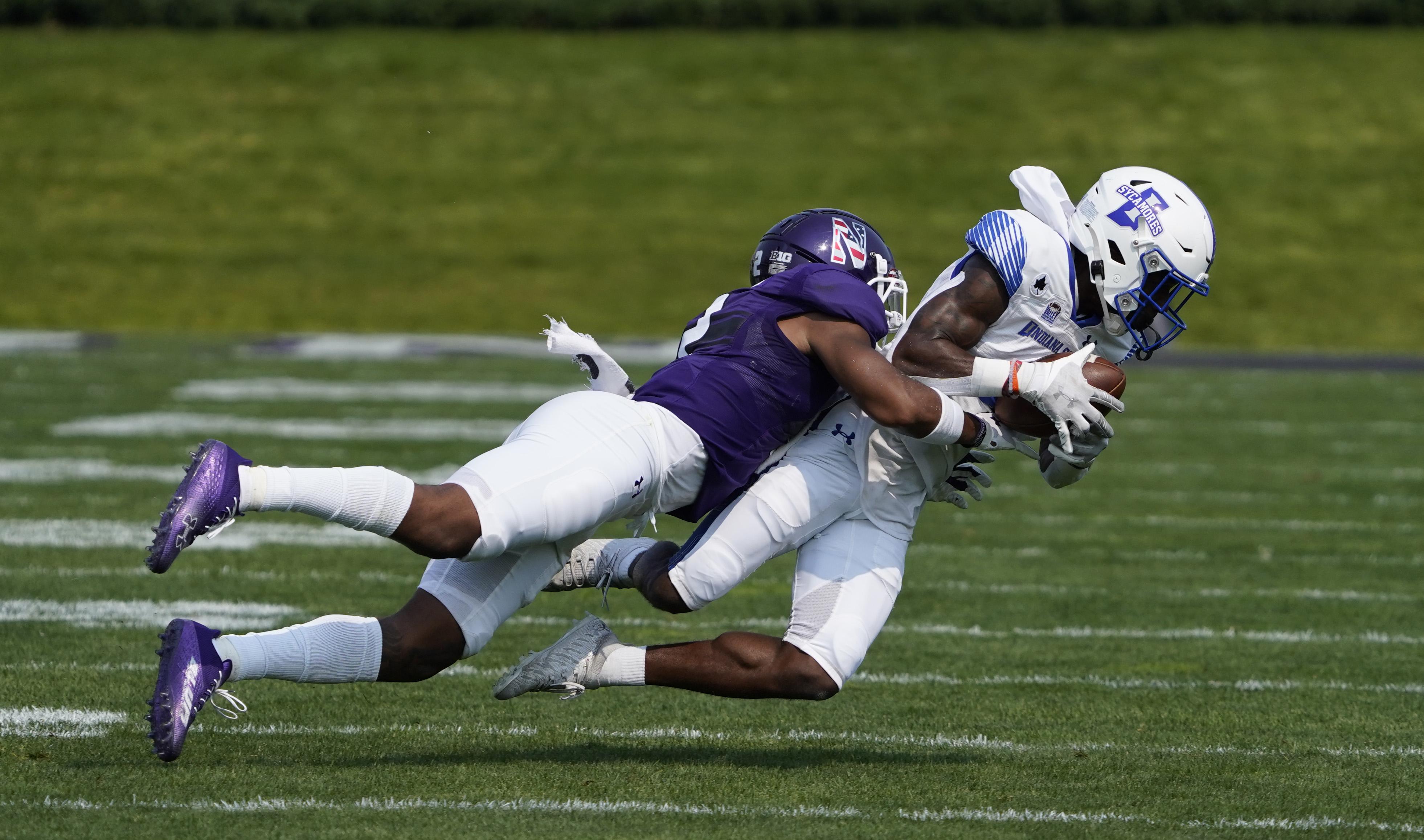 NCAA Football: Indiana State at Northwestern