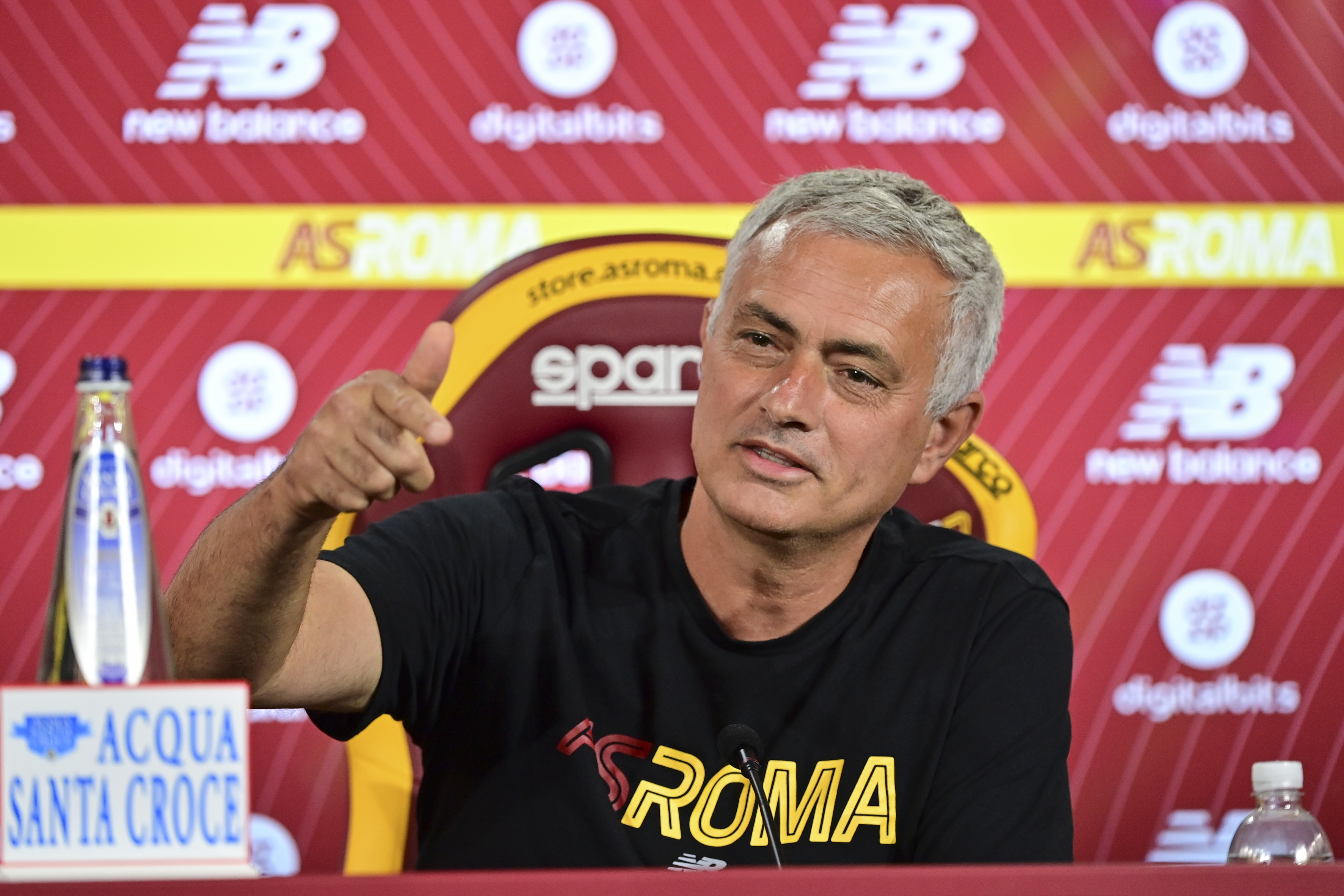 AS Roma Press Conference