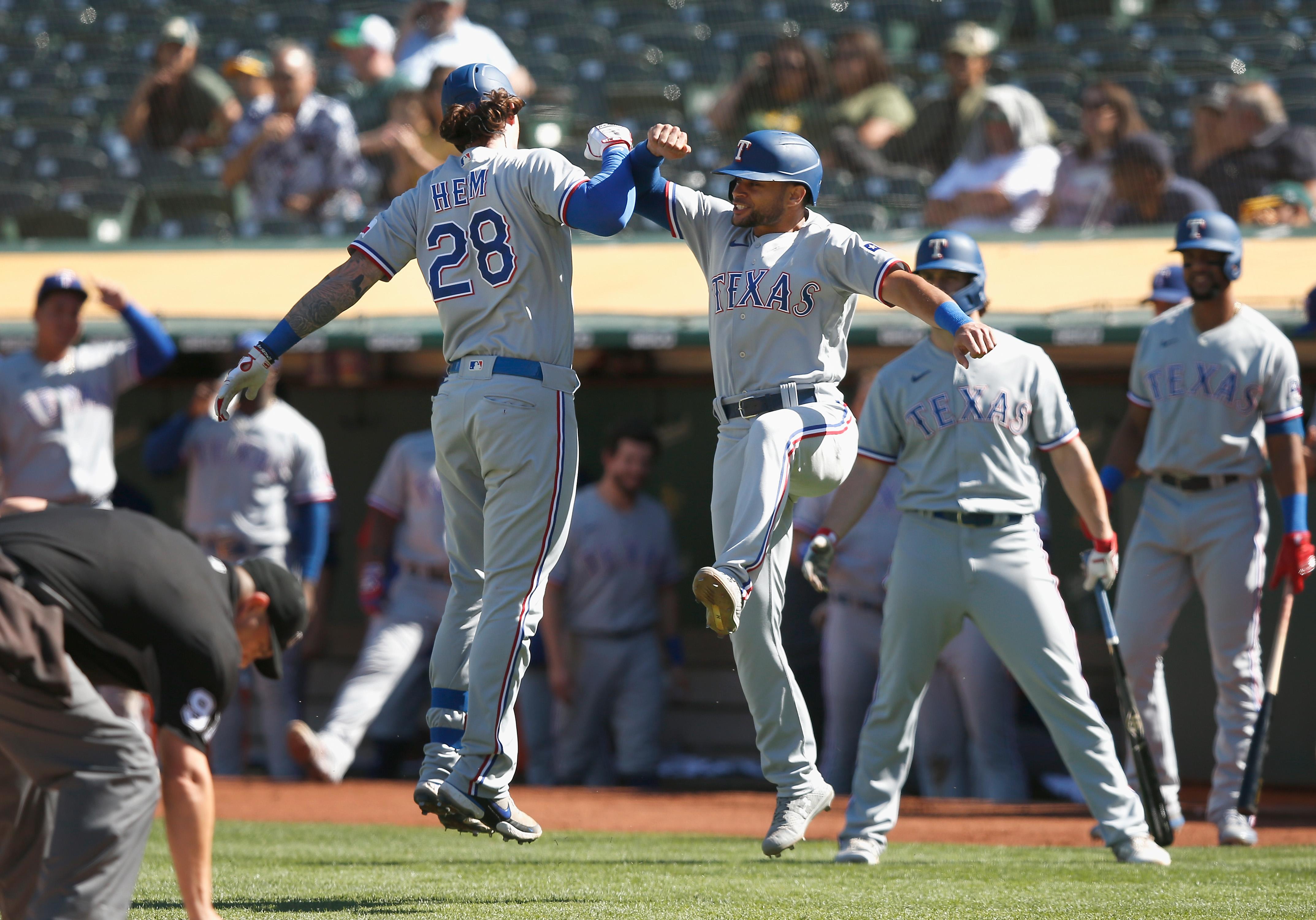 Texas Rangers v Oakland Athletics
