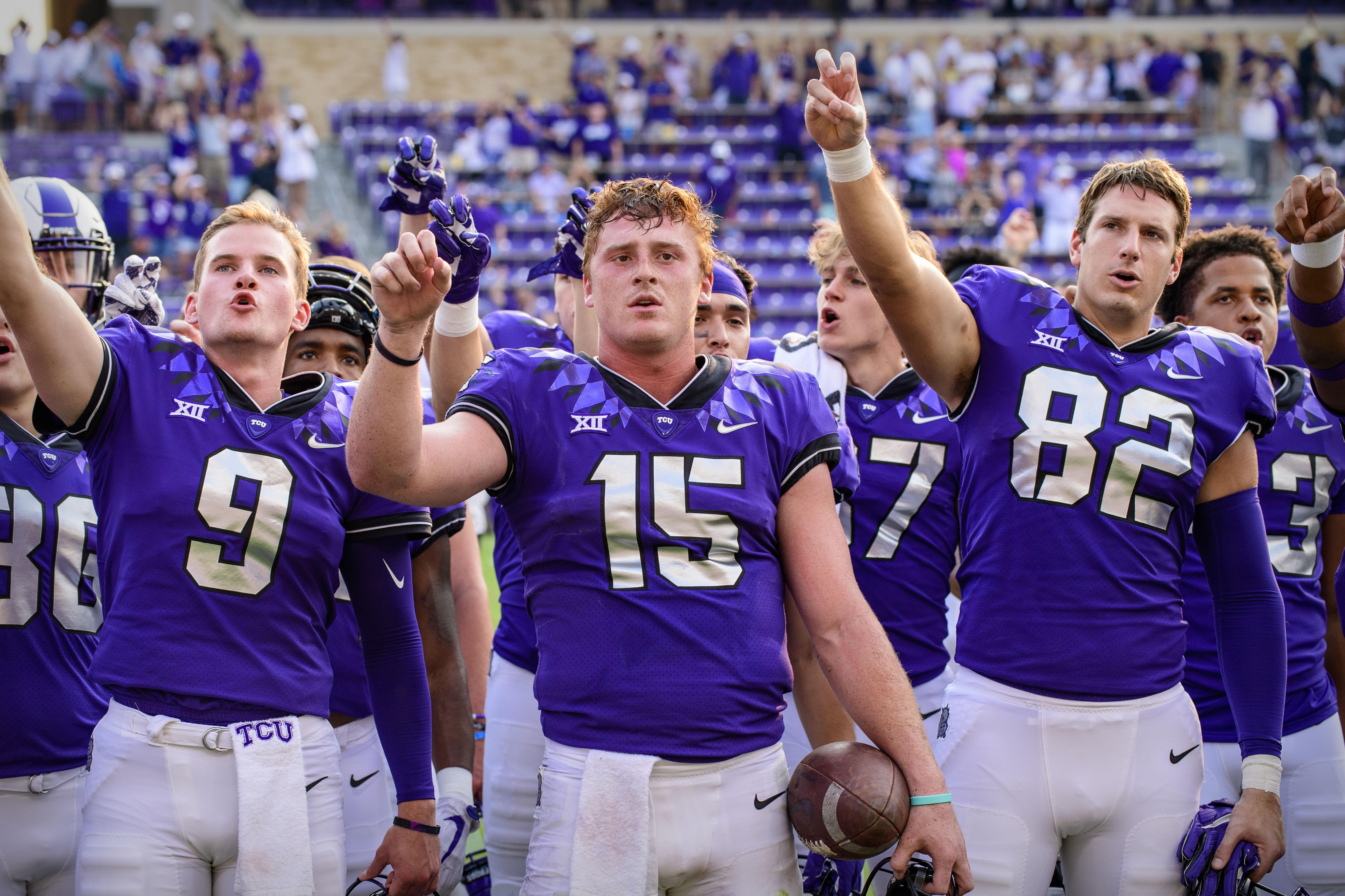 NCAA Football: California at Texas Christian
