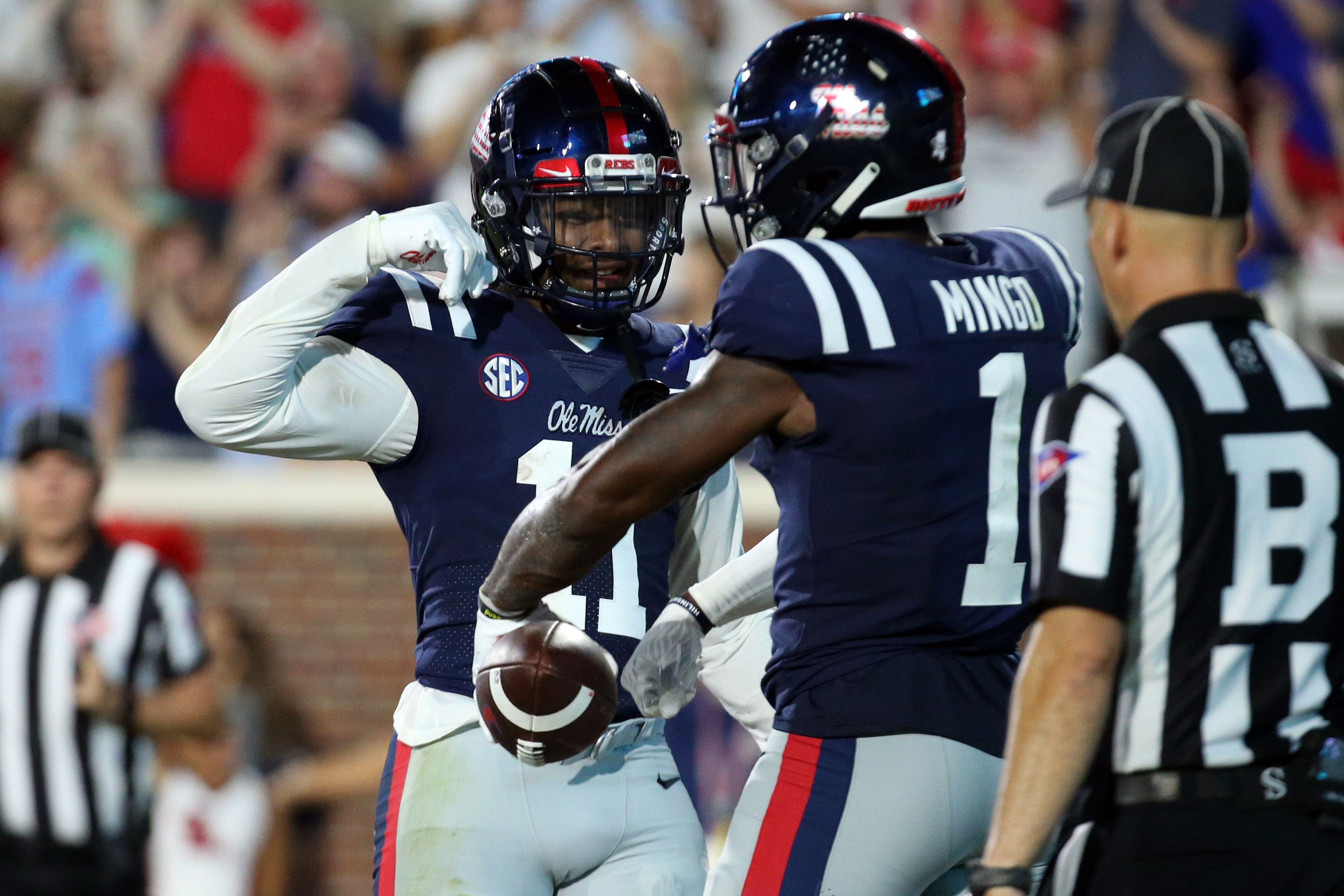 NCAA Football: Austin Peay at Mississippi