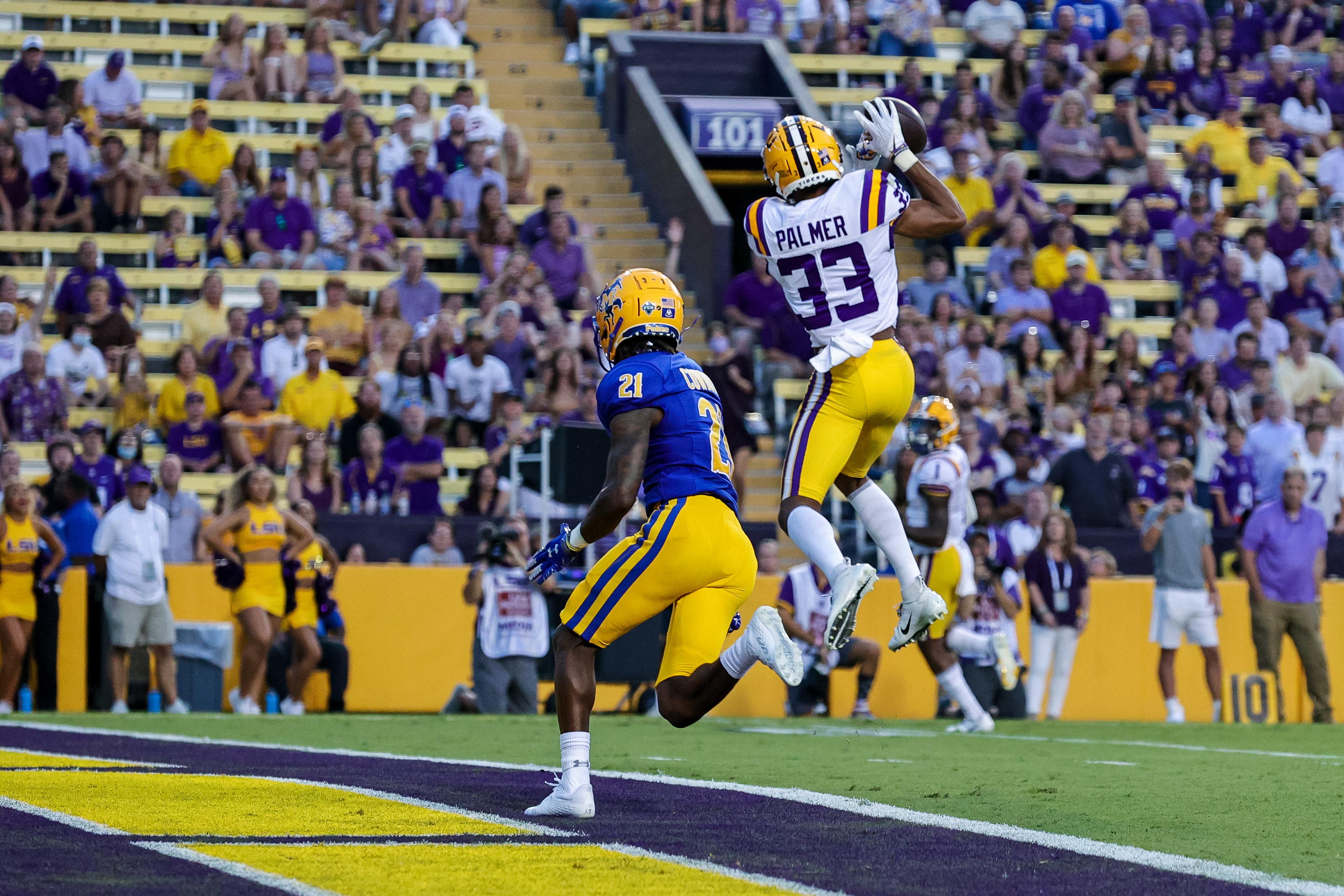 NCAA Football: McNeese State at Louisiana State