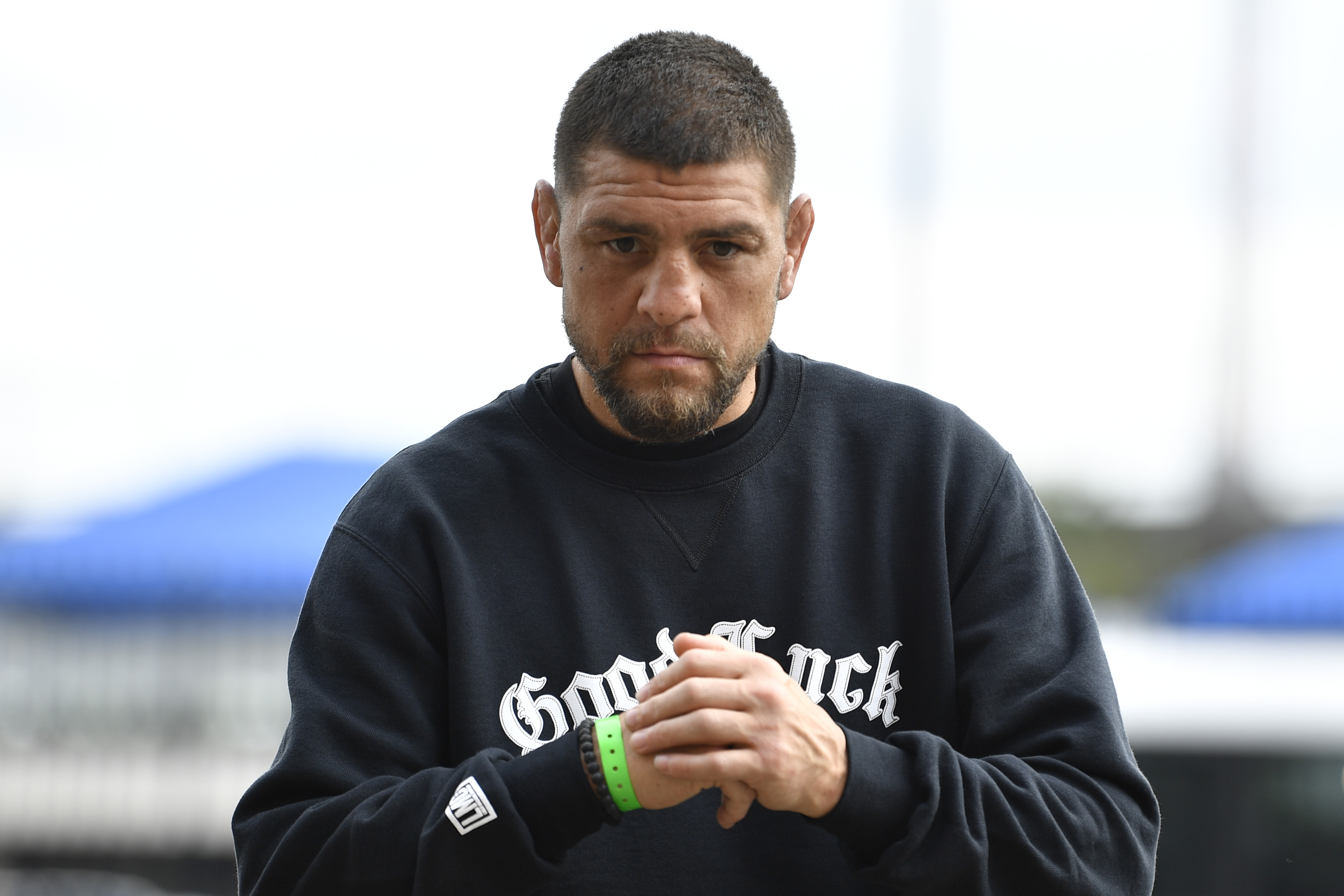 Nick Diaz's has recently partnered up with adult site Stripchat.