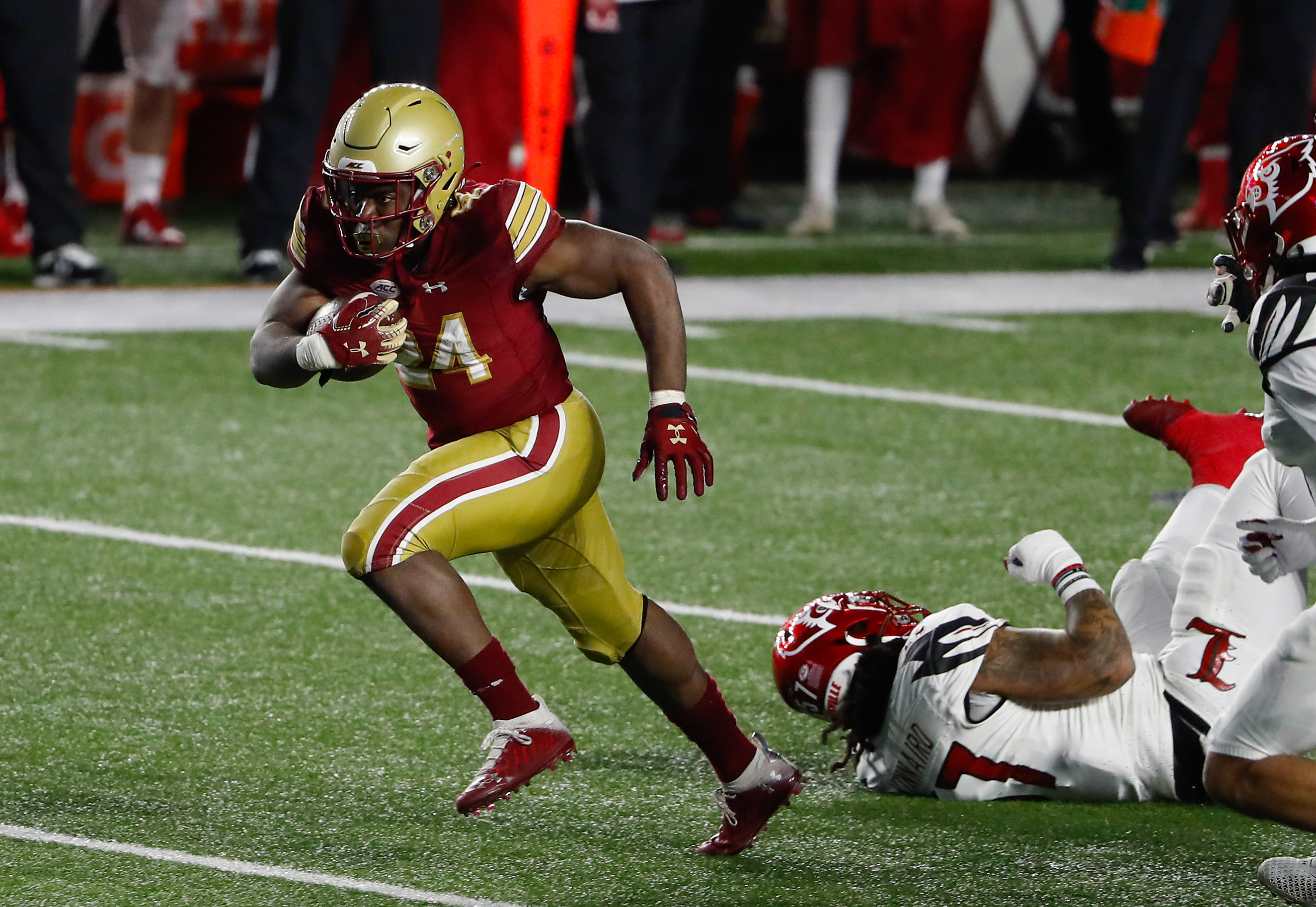 NCAA Football: Louisville at Boston College