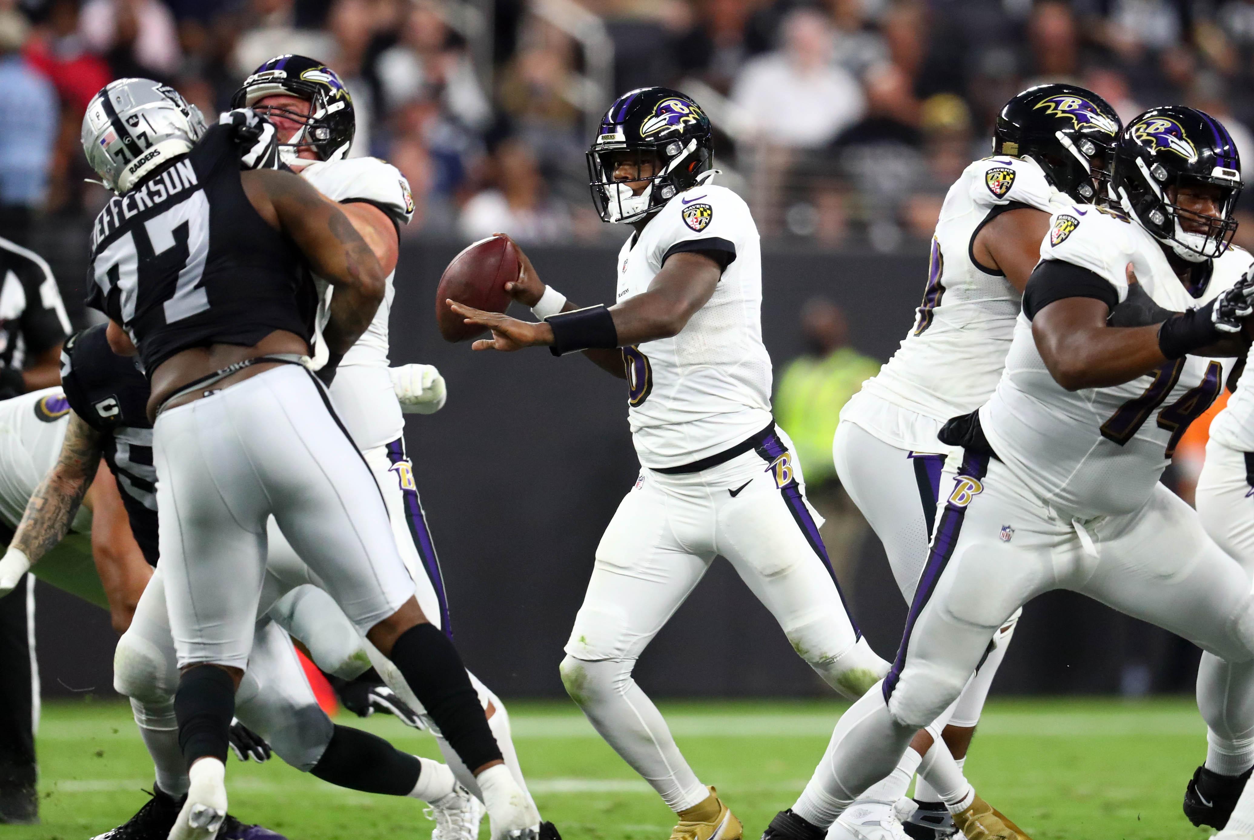 NFL: Baltimore Ravens at Las Vegas Raiders