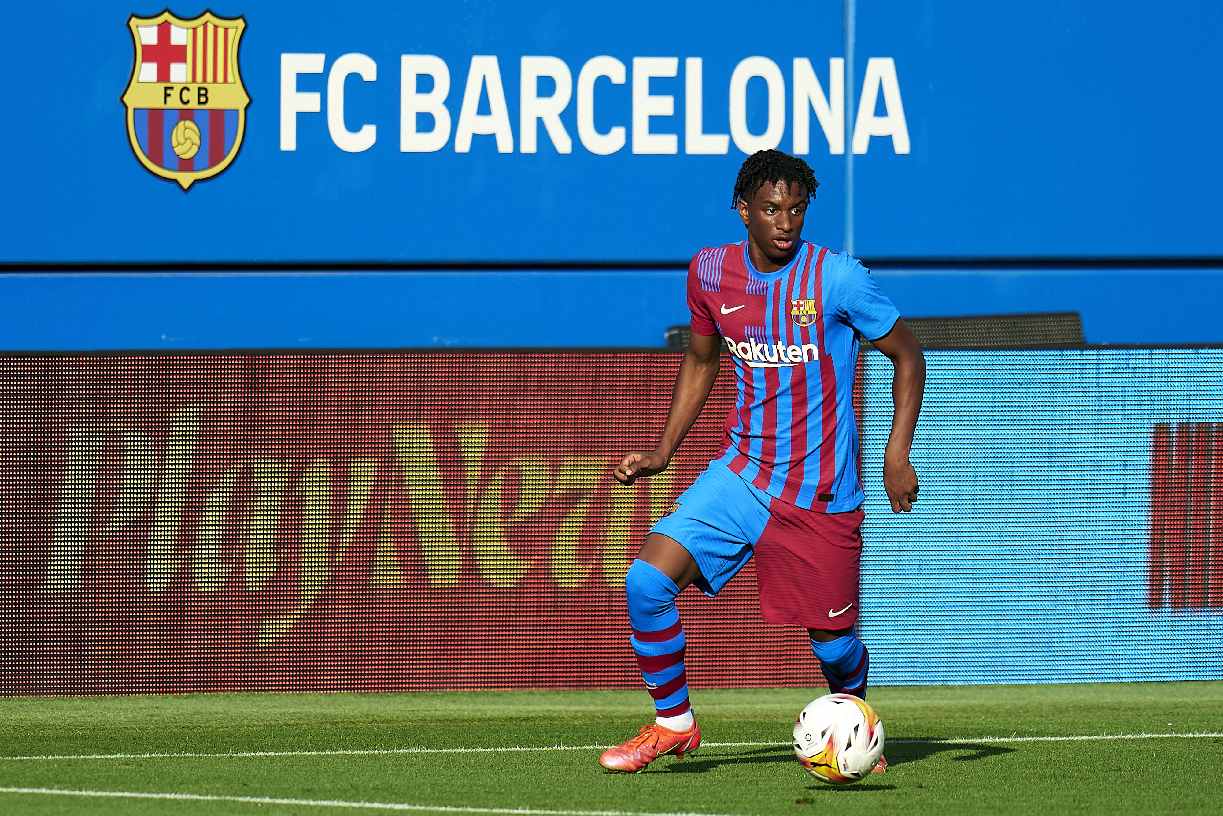 FC Barcelona v Gimnastic de Tarragona - Friendly Match