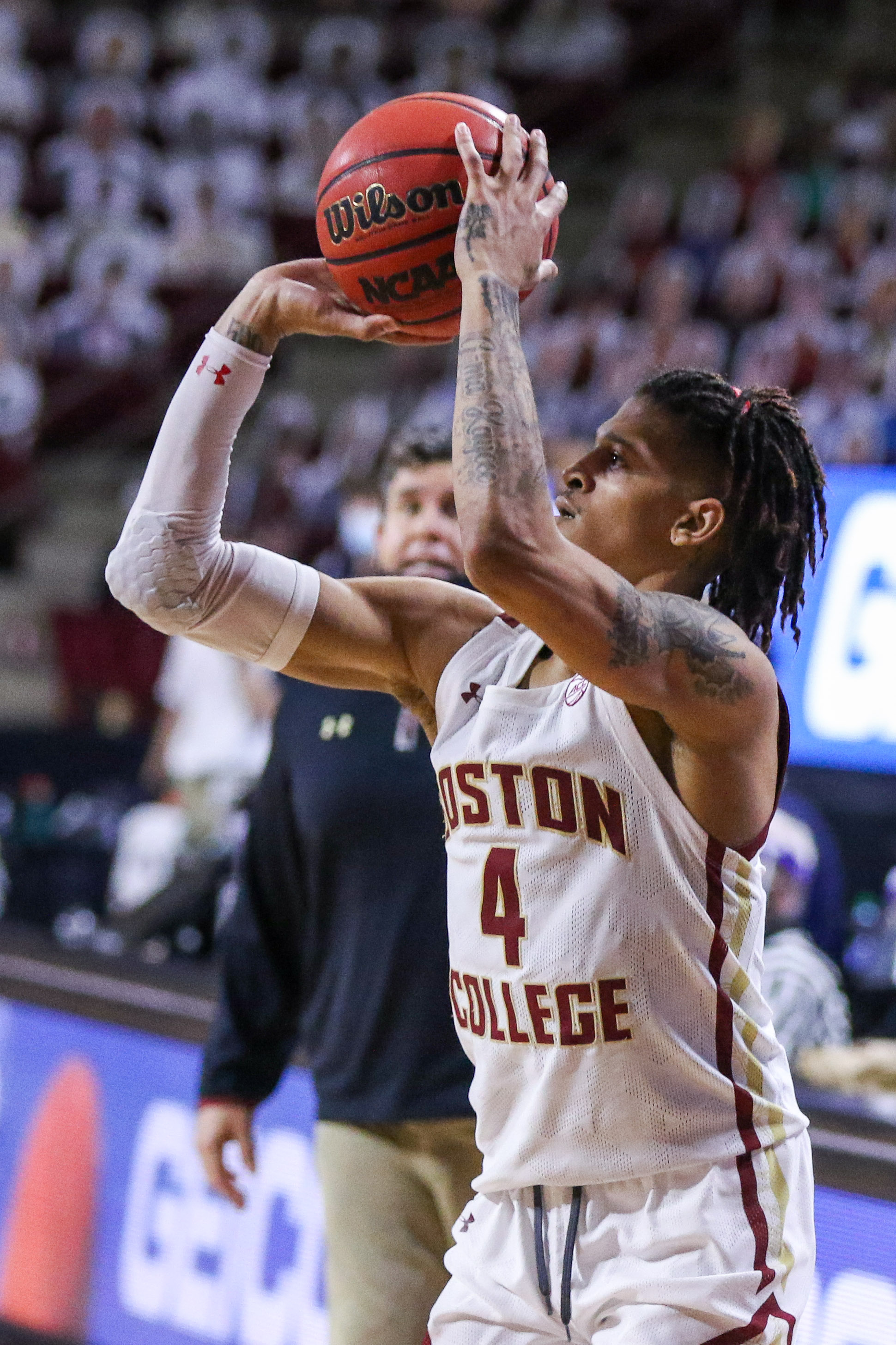NCAA Basketball: Notre Dame at Boston College