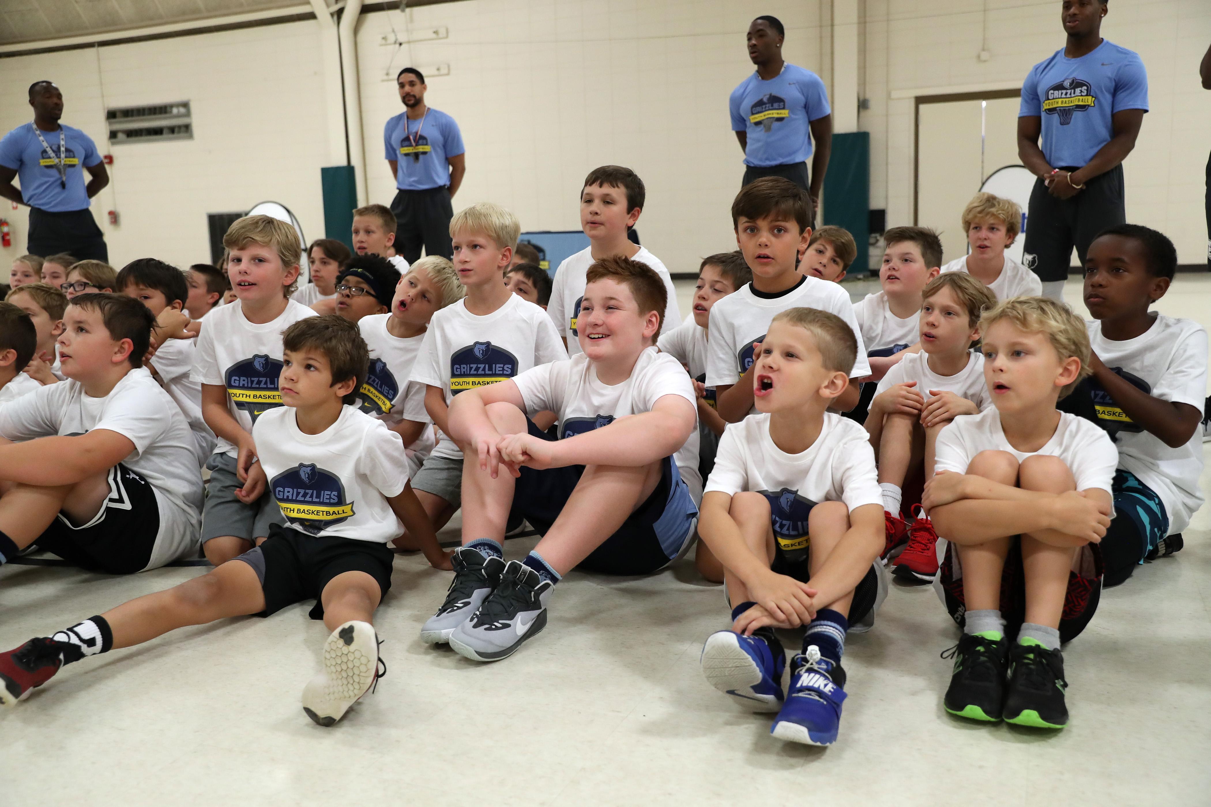 Brandon Clarke - Youth Basketball Camp