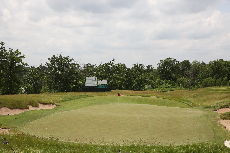 GOLF: JUN 14 PGA - 117th US Open - Practice