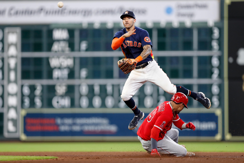 Los Angeles Angels v Houston Astros