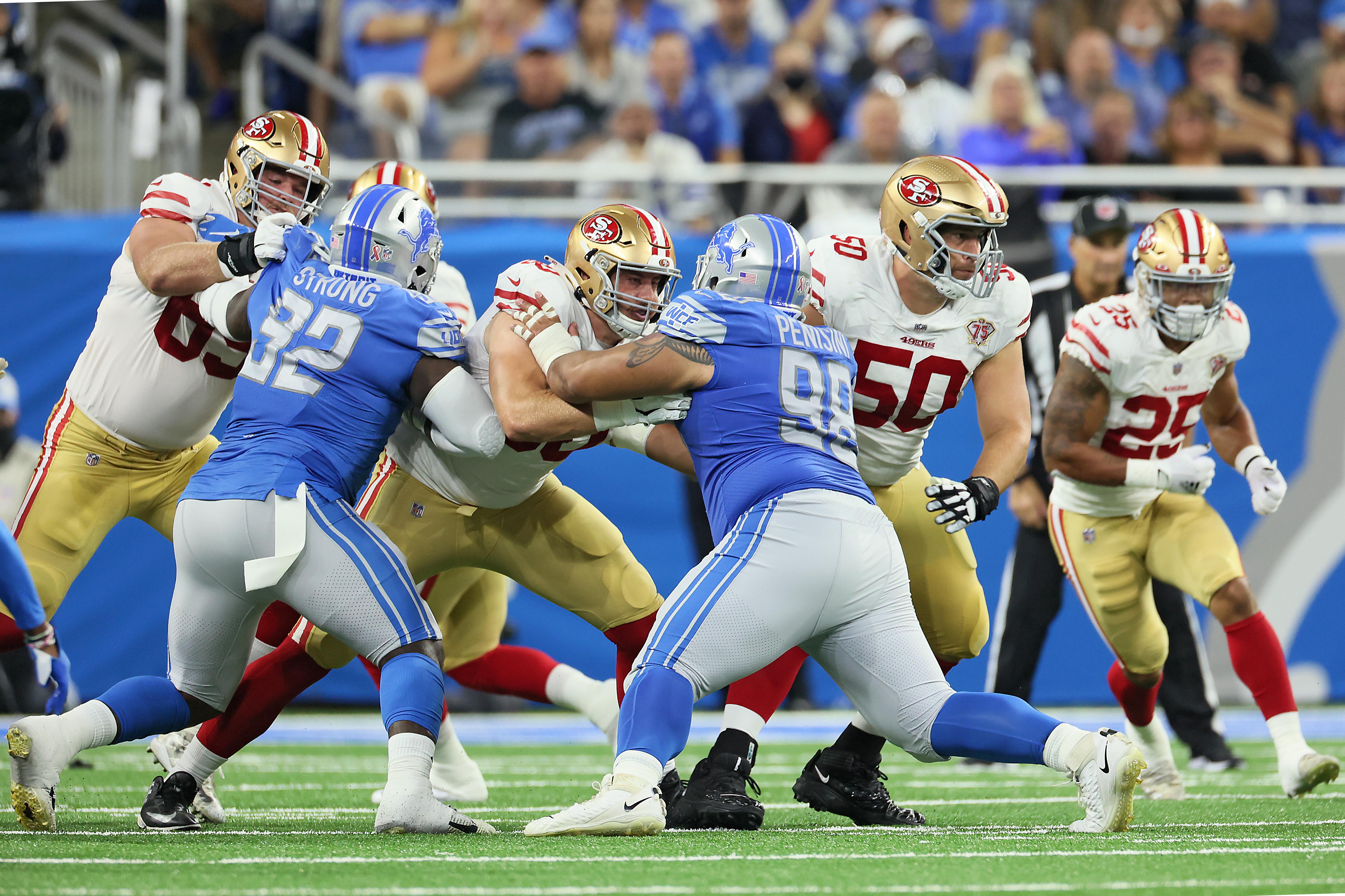 San Francisco 49ers vs Detroit Lions