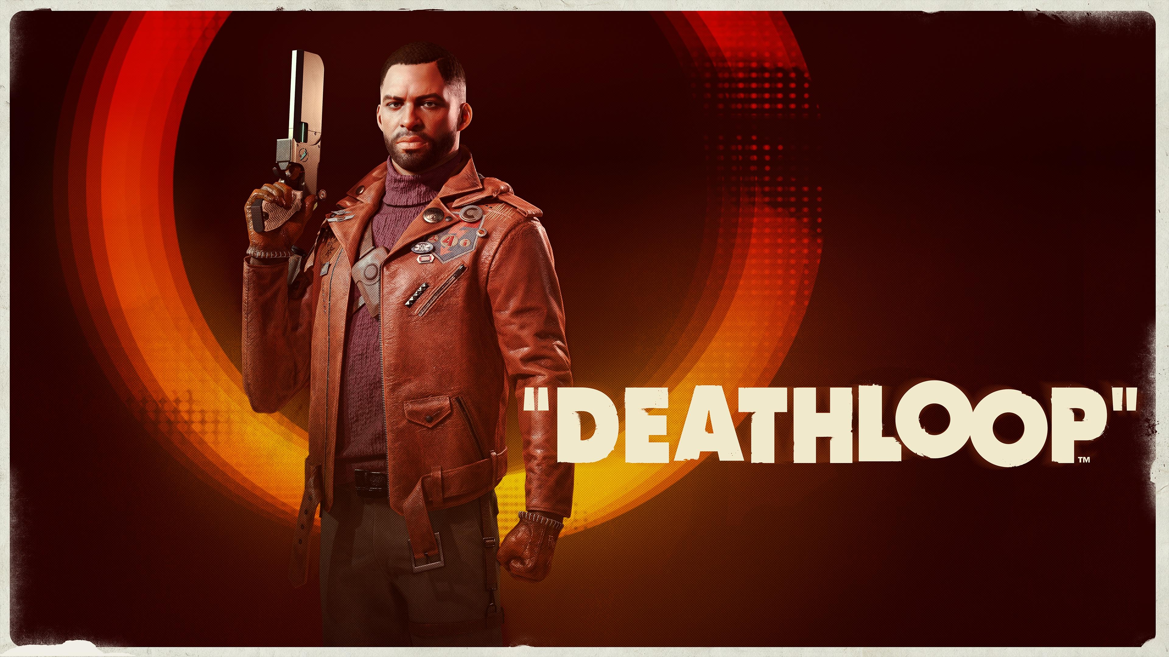 Colt holding a gun in Deathloop