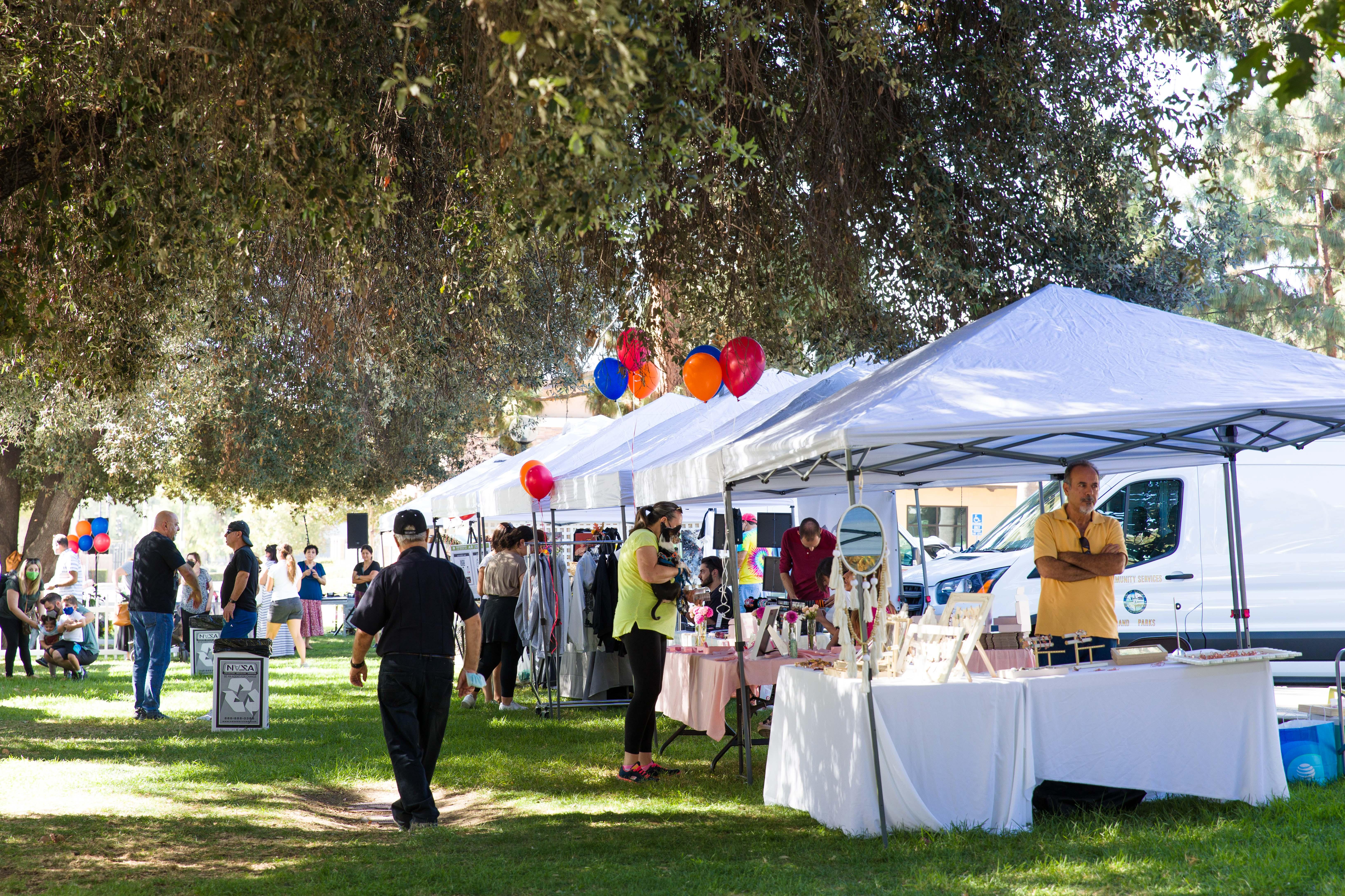 Artsakh Farmers Market in Glendale, California, on September 12, 2021.